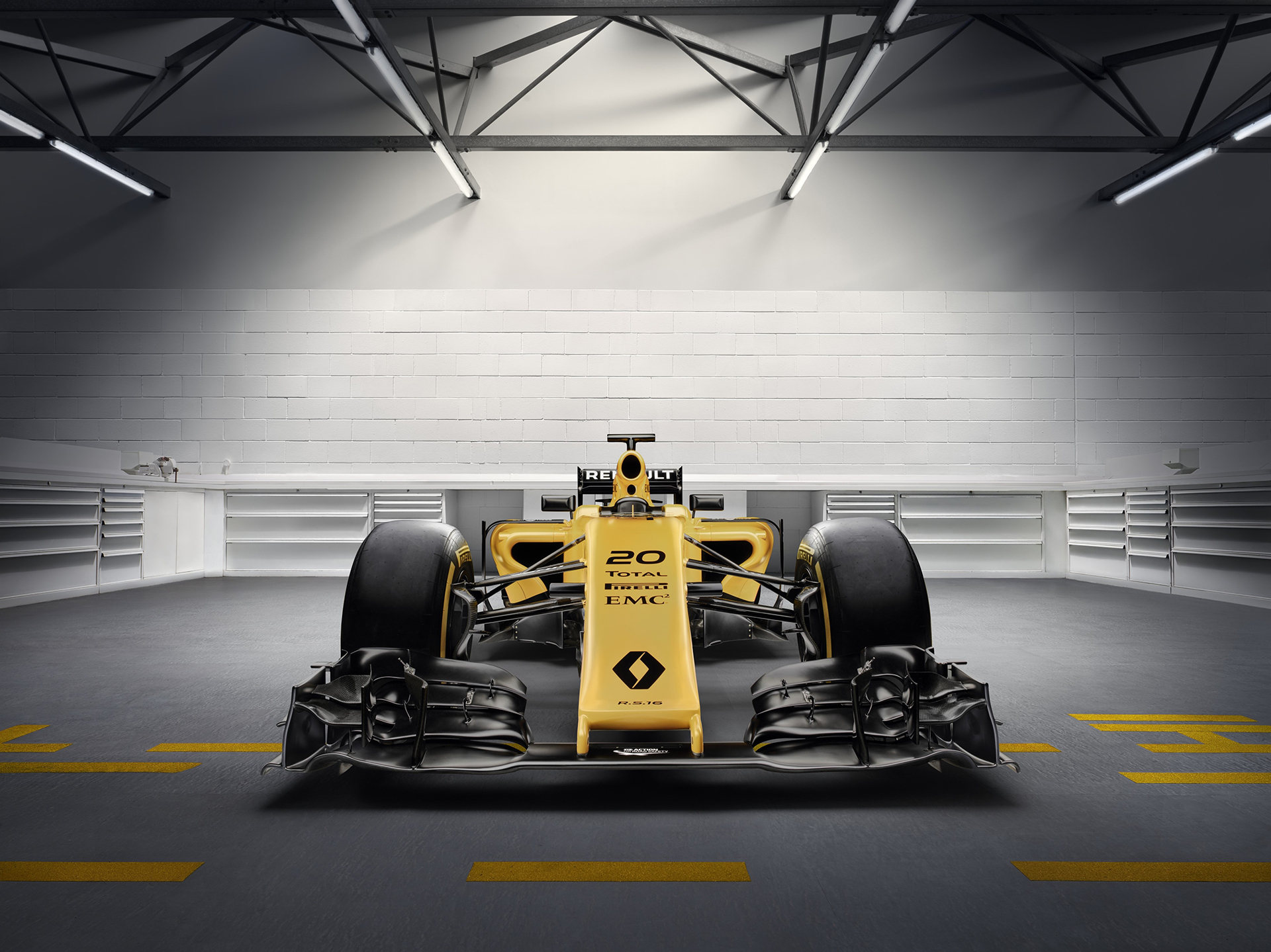Renault Sport Formula One Team RS16 - front / face-avant