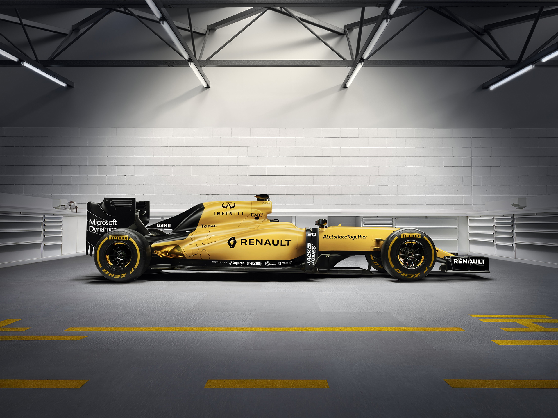 Renault Sport Formula One Team RS16 - side-face / profil