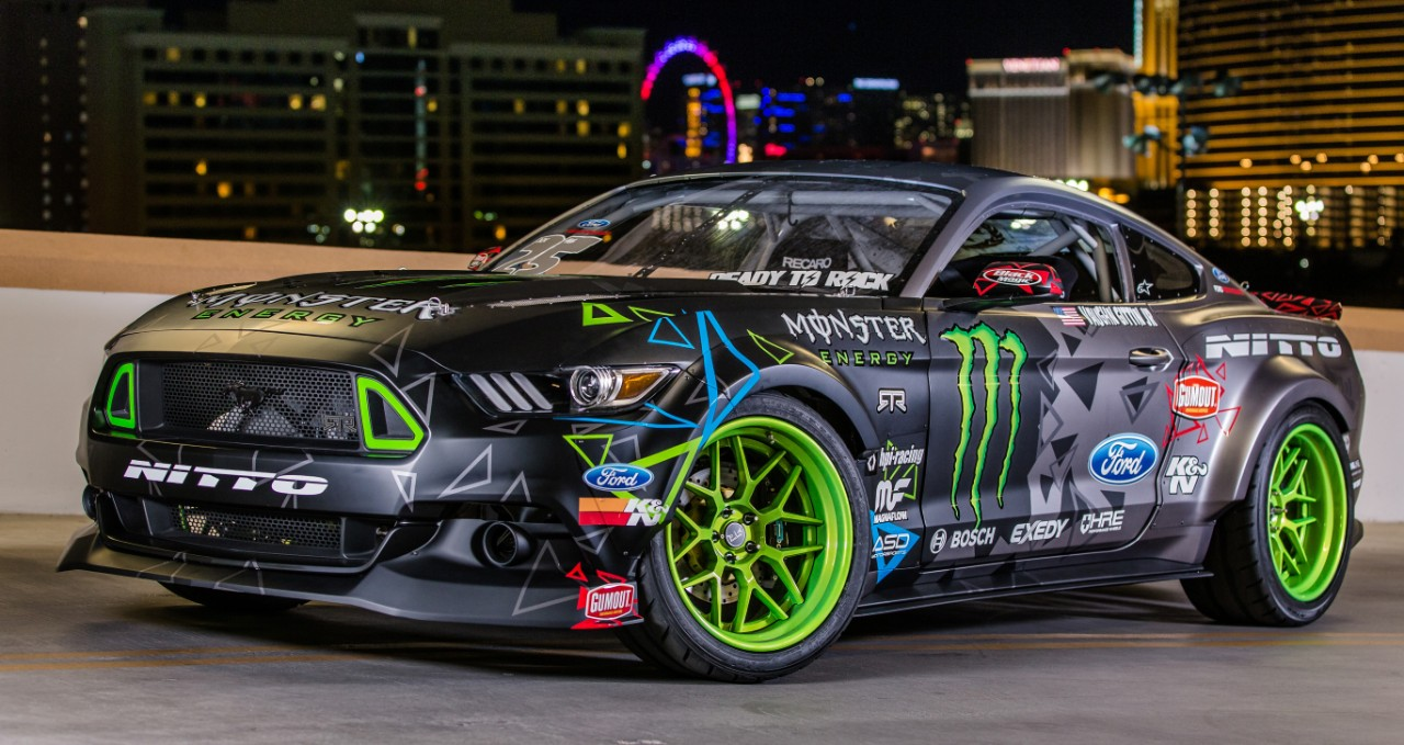 Mustang RTR 2016 - front side-face / profil avant