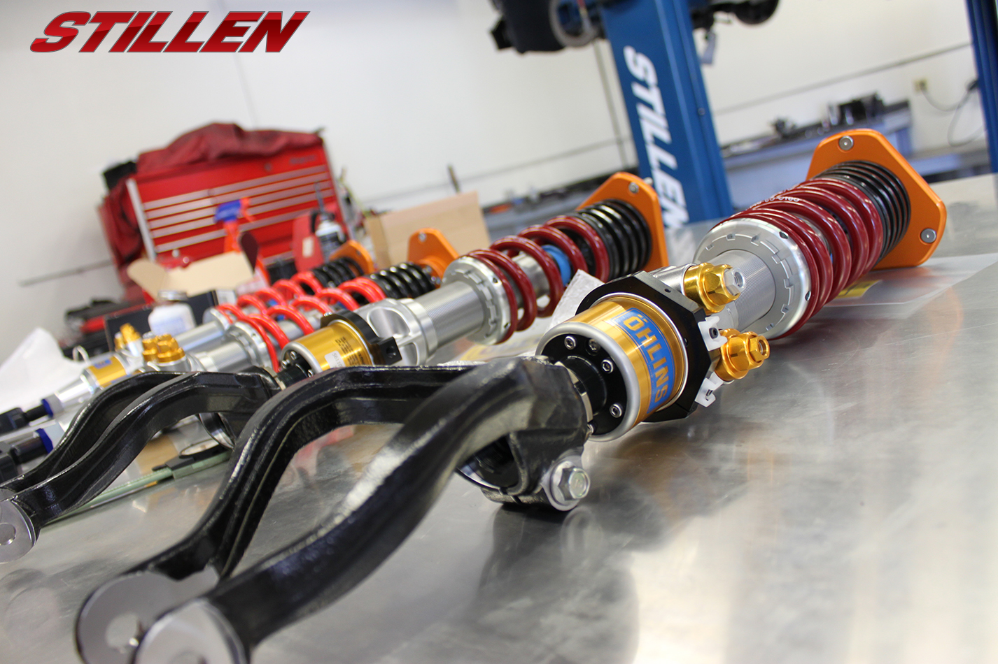 STILLEN NISMO GT-R N Attack - 2015 - parts Ohlins