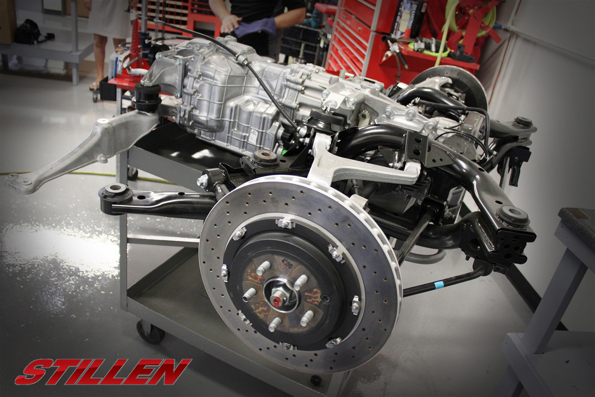 STILLEN NISMO GT-R N Attack - 2015 - parts differentials