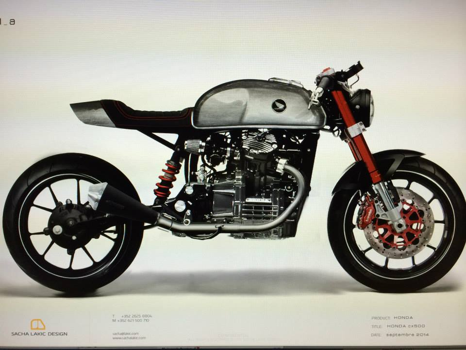 Honda Cx 500 Puissance : honda cx 500 gts by sacha lakic the power of dreams sorti du garage georges luxembourg ~ Maxctalentgroup.com Avis de Voitures