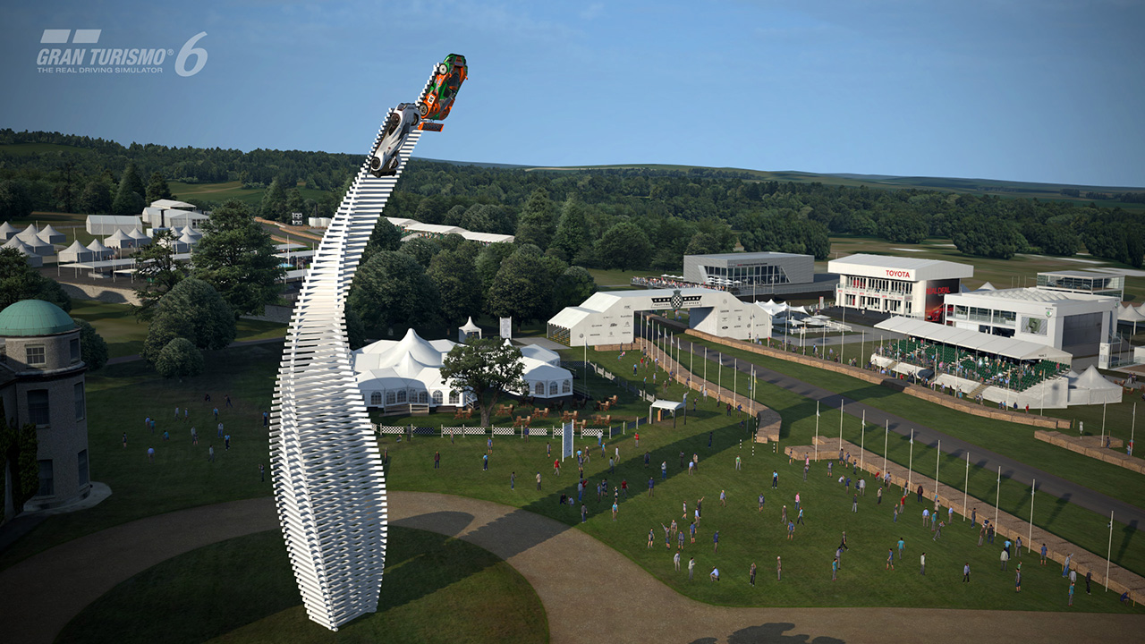 GT6 Mazda tribute FOS 2015 - sculpture - Goodwood