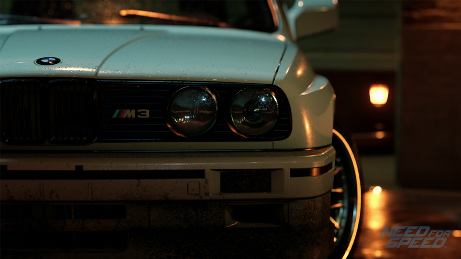 NFS 2015 - BMW M3 Evolution II (E30)
