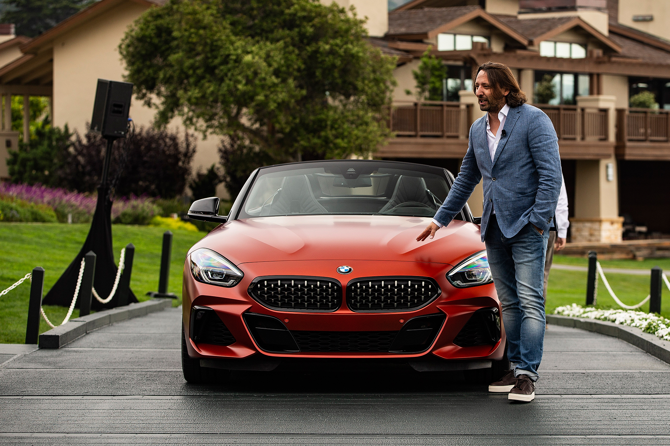 BMW Z4 Roadster M40i First Edition - 2018 - front face - Pebble Beach