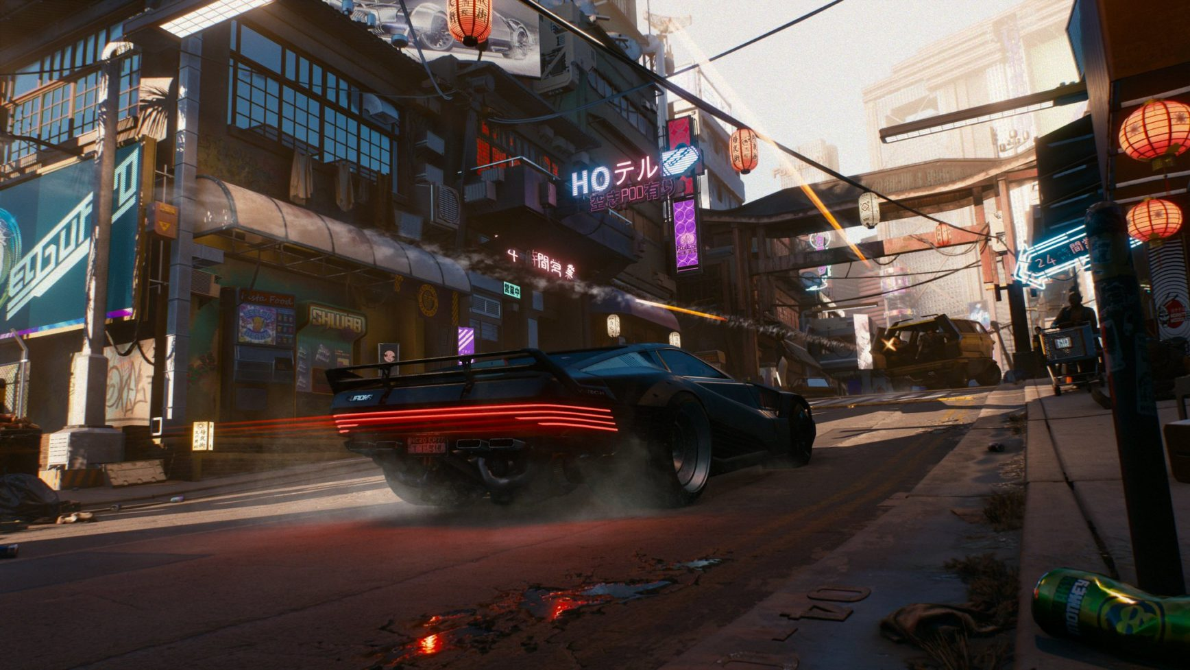 CD Projekt Red - Cyberpunk 2077 - artwork - car