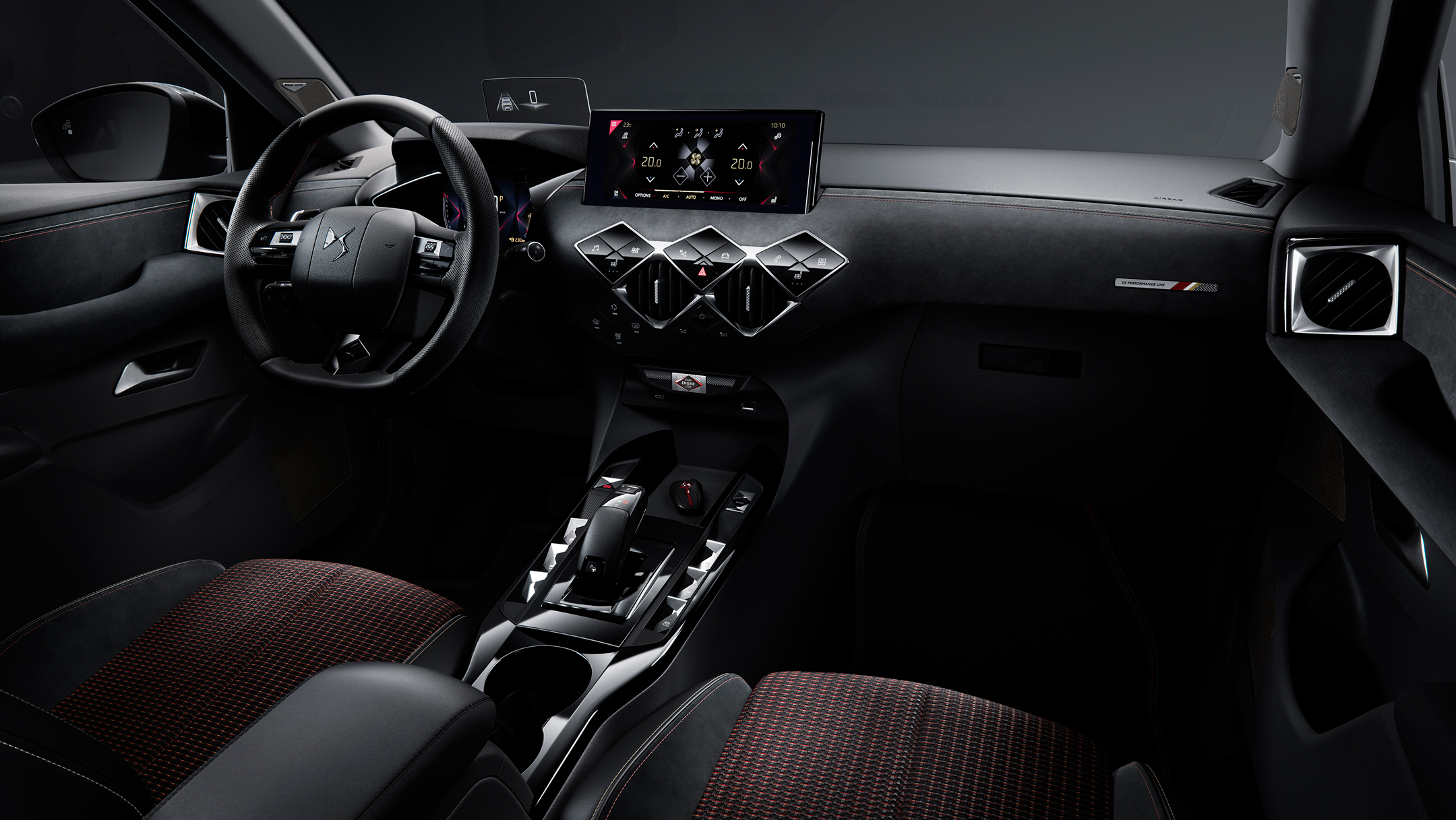 DS 3 Crossback - 2018 - interior / intérieur - DS Performance Line