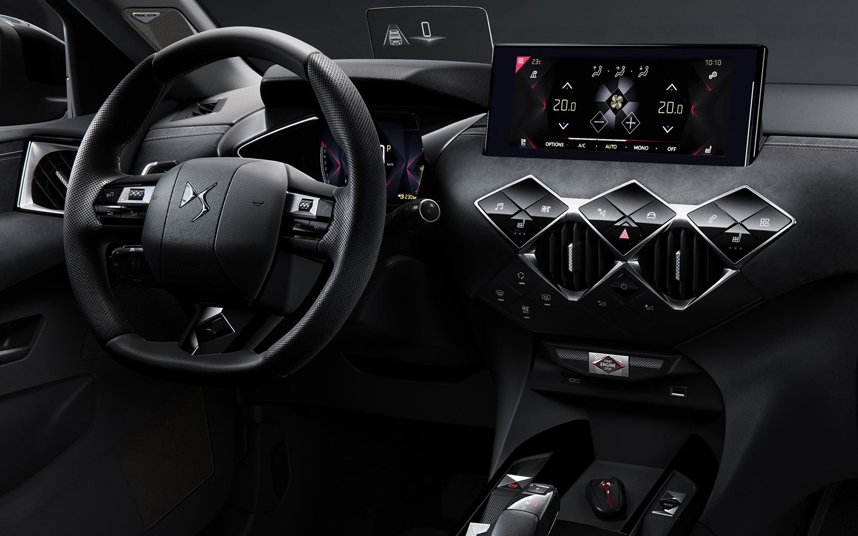 DS 3 Crossback - 2018 - steering wheel / volant - DS Performance Line
