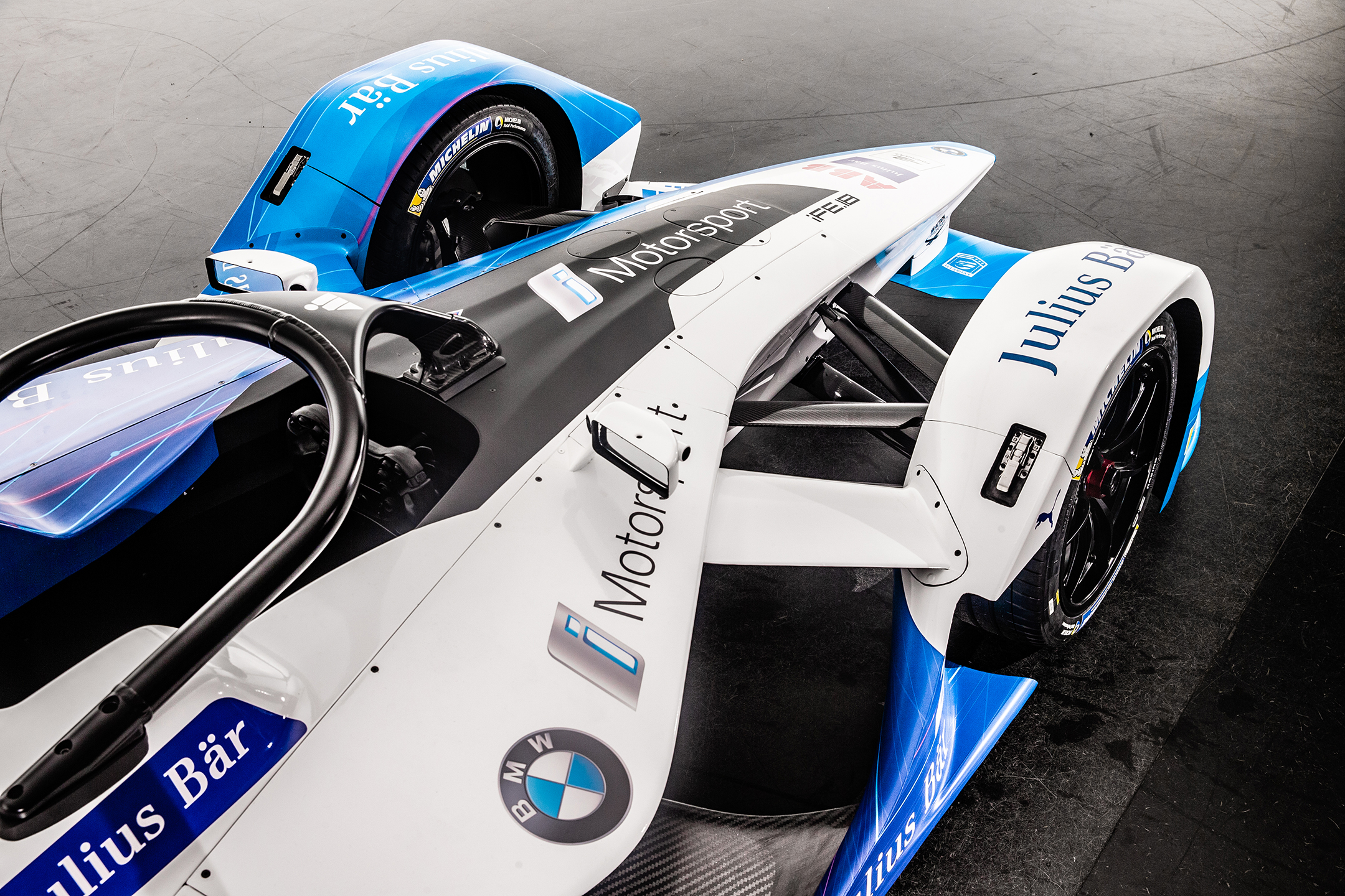 BMW iFE.18. - FormulaE 2018/2019 - front top view