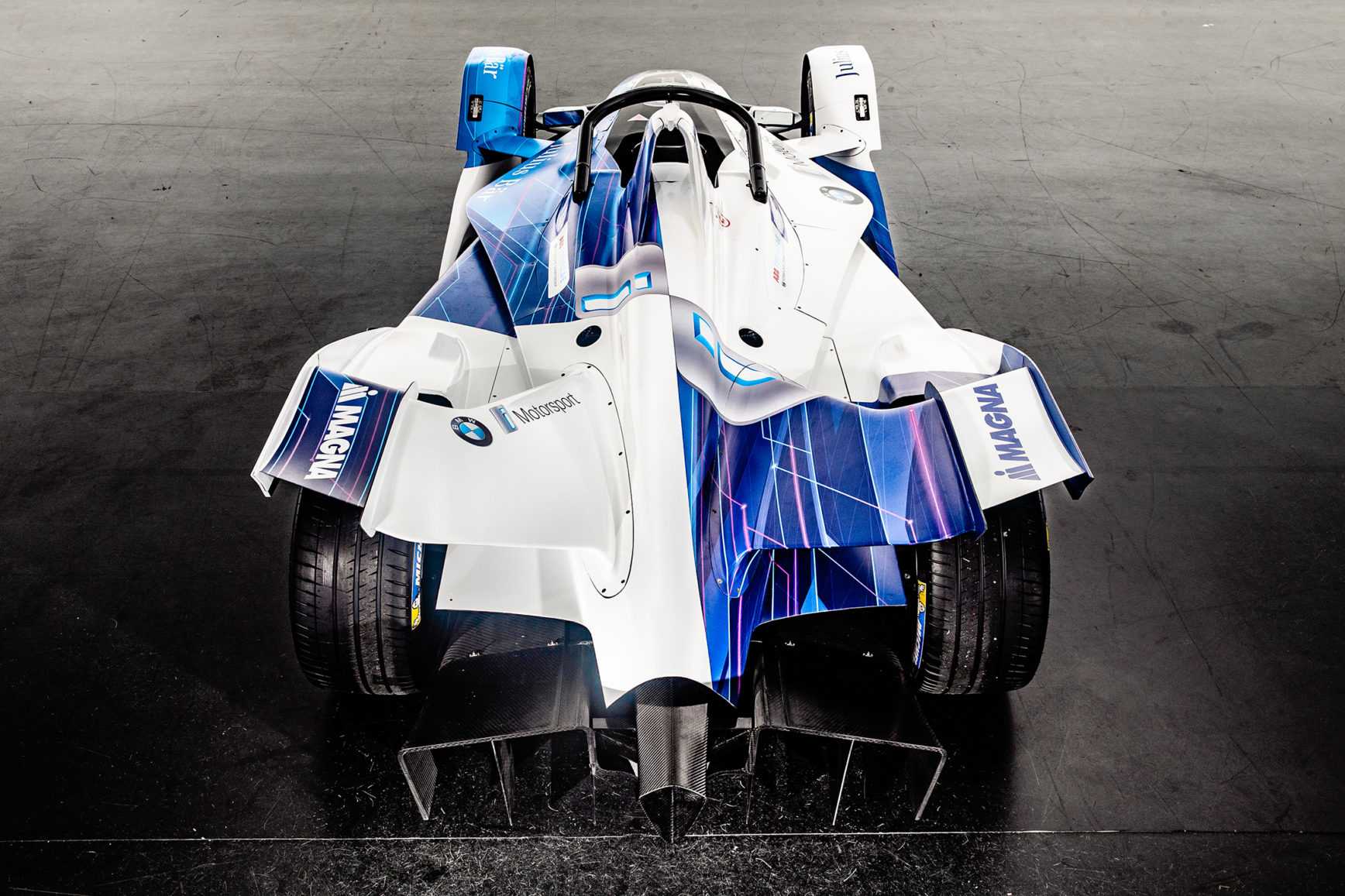BMW iFE.18. - FormulaE 2018/2019 - top rear face