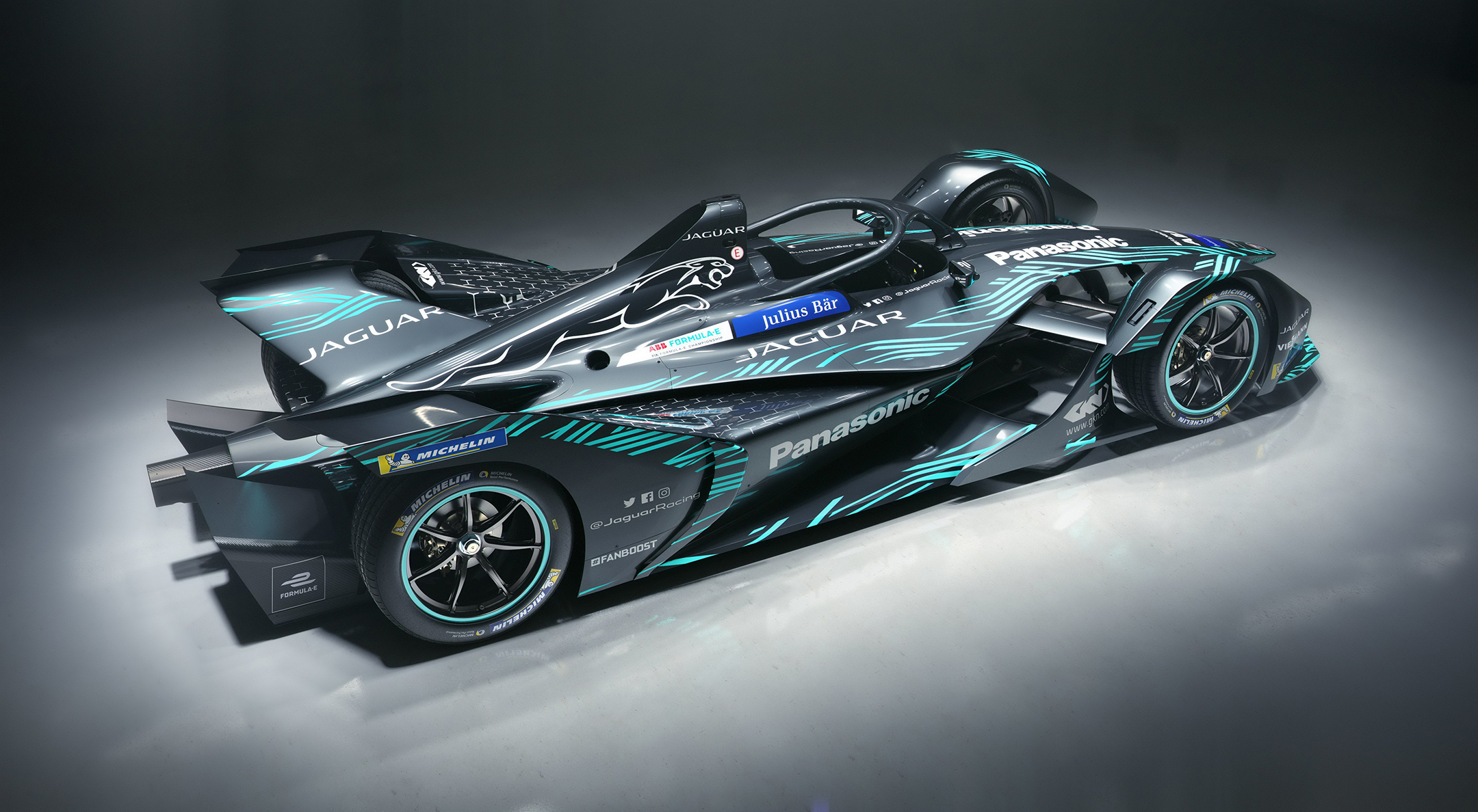 Jaguar I-Type 3 - FormulaE 2018/2019 - rear side-face