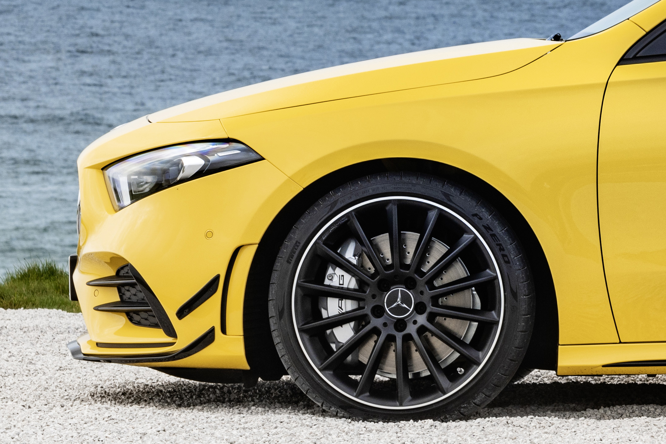 Mercedes-AMG A35 4MATIC - 2018 - front wheel / jante avant