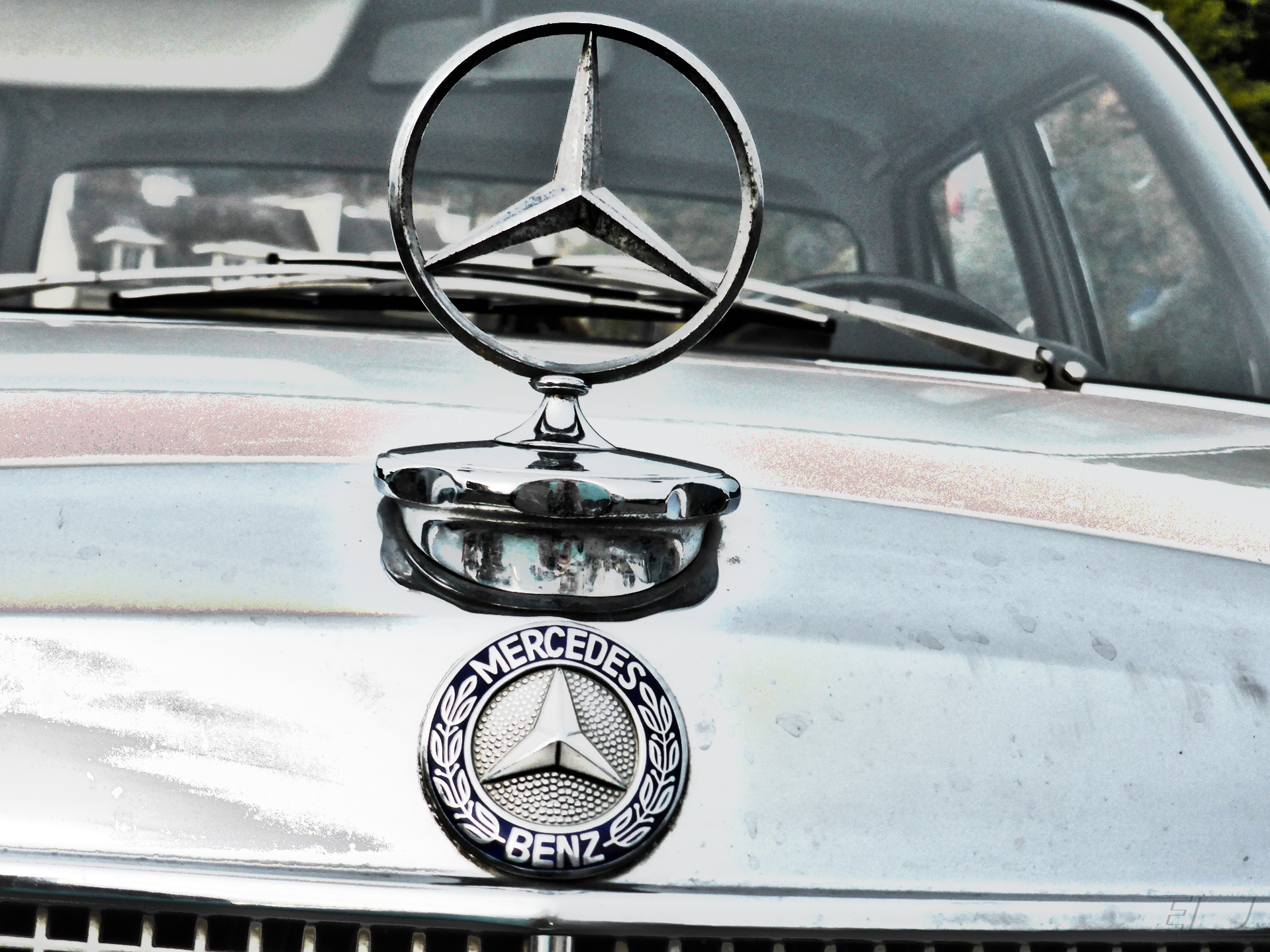 Mercedes-Benz 200 - silver star - AVAM - 2018 - photo by ELJ
