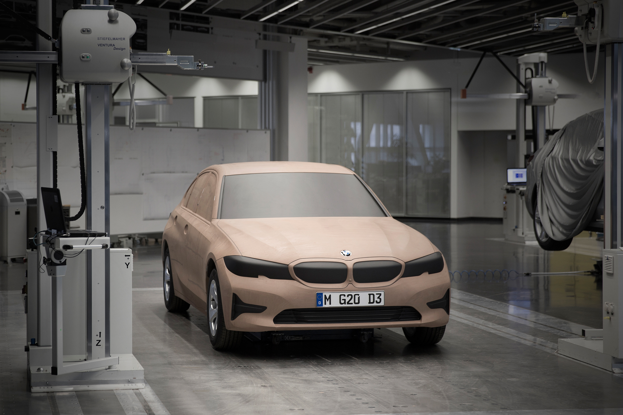 BMW Serie 3 Berline - 2018 - front prototype