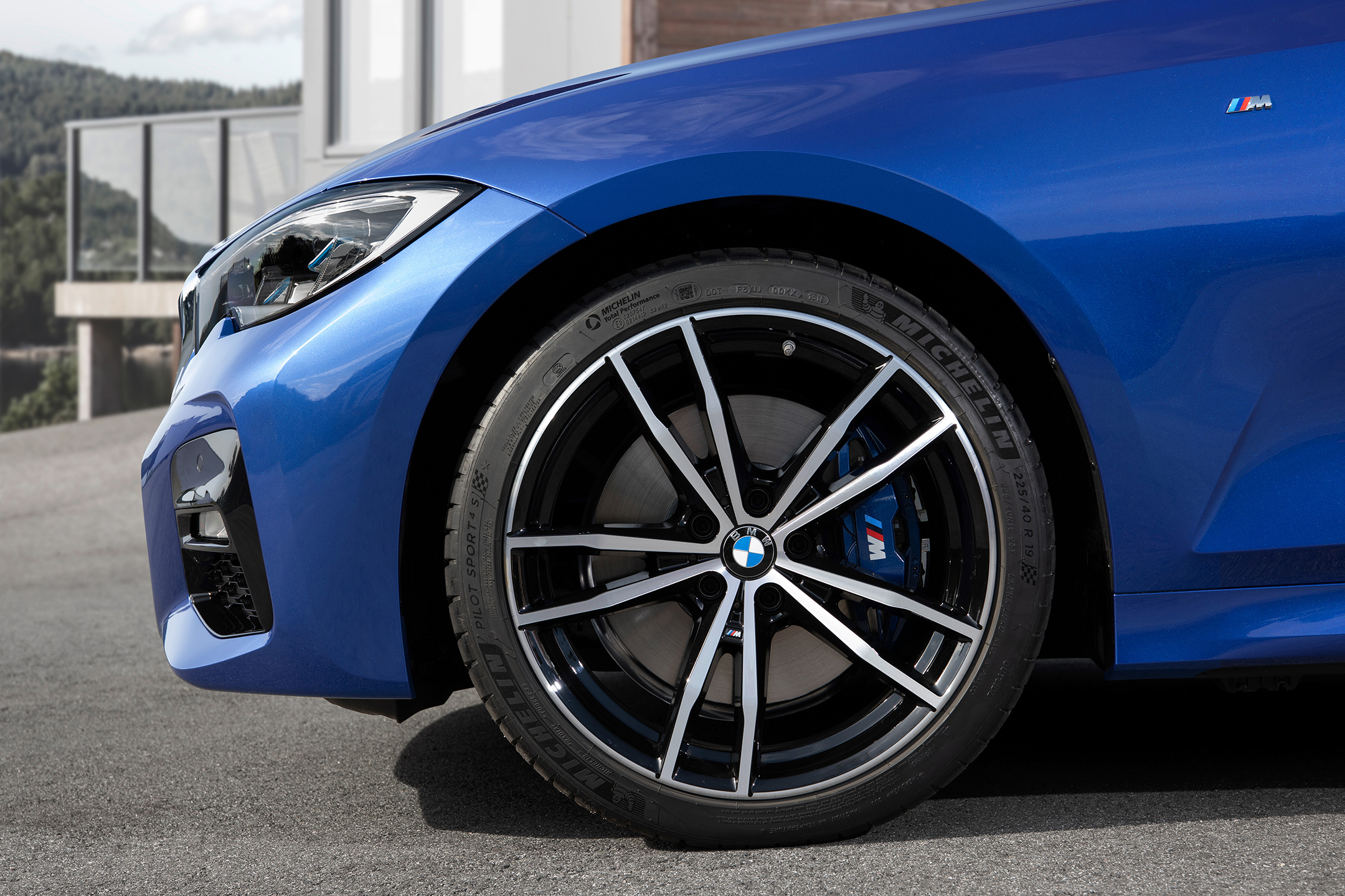 BMW Serie 3 Berline M Sport - 2018 - wheel / jante