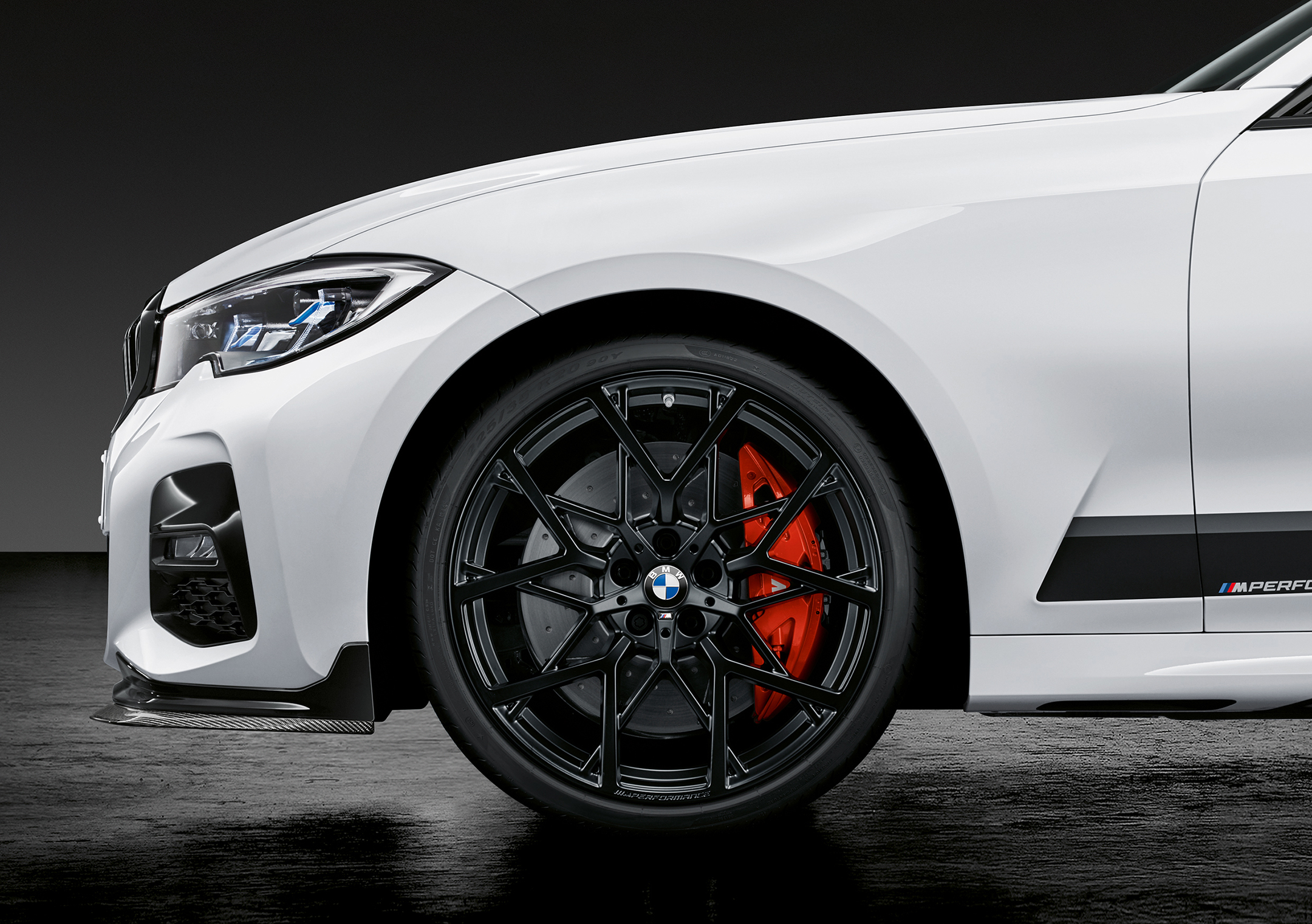 BMW Serie 3 Berline M Performance - 2018 - wheel / jante