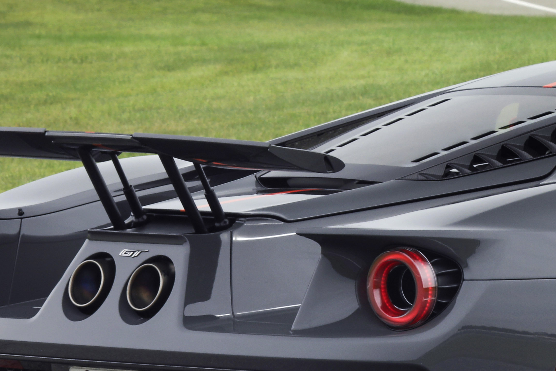 Ford GT Carbon Series - 2018 - exhaust titanium