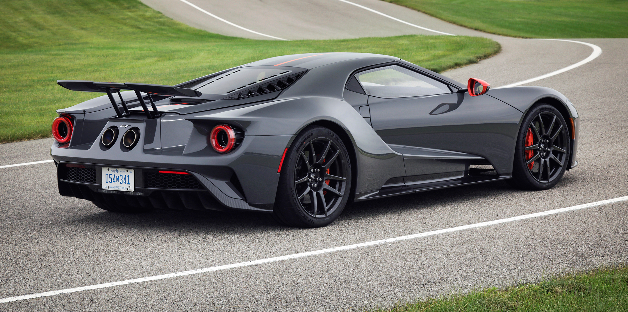 Ford GT Carbon Series - 2018 - rear side-face / profil arrière
