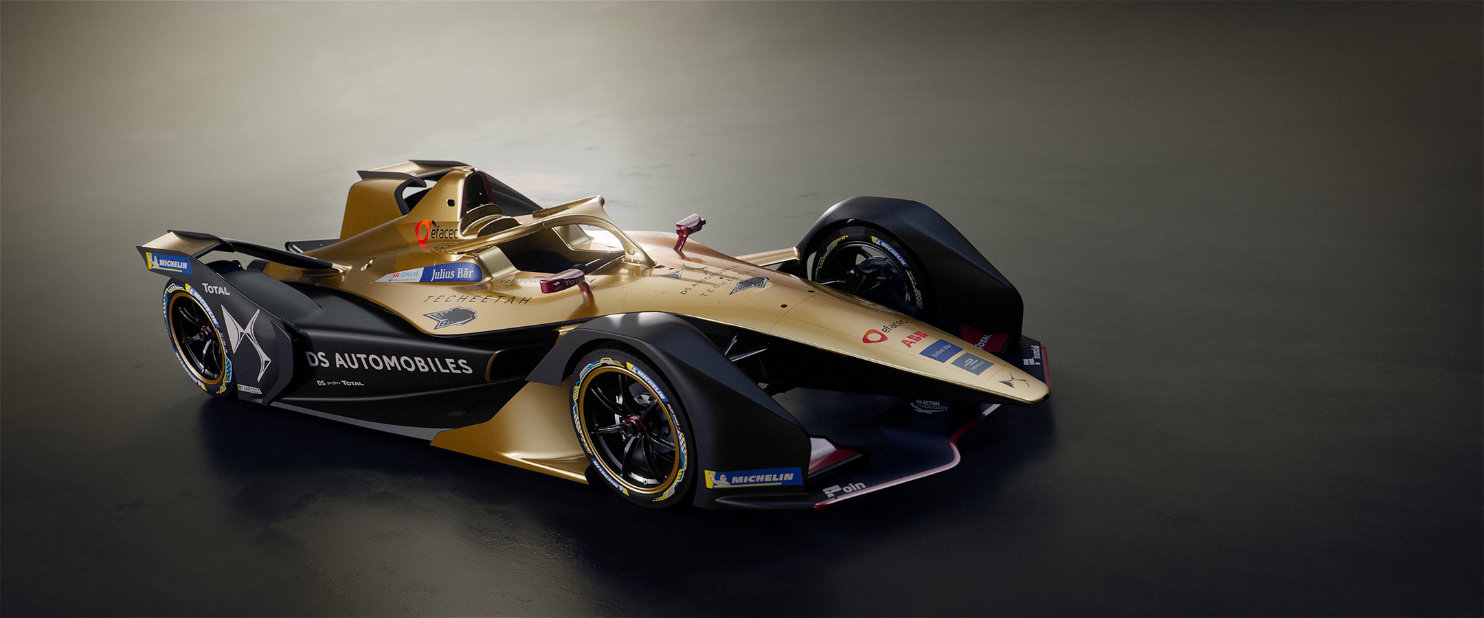 DS Techeetah E-TENSE - FormulaE 2018/2019 - front side-face