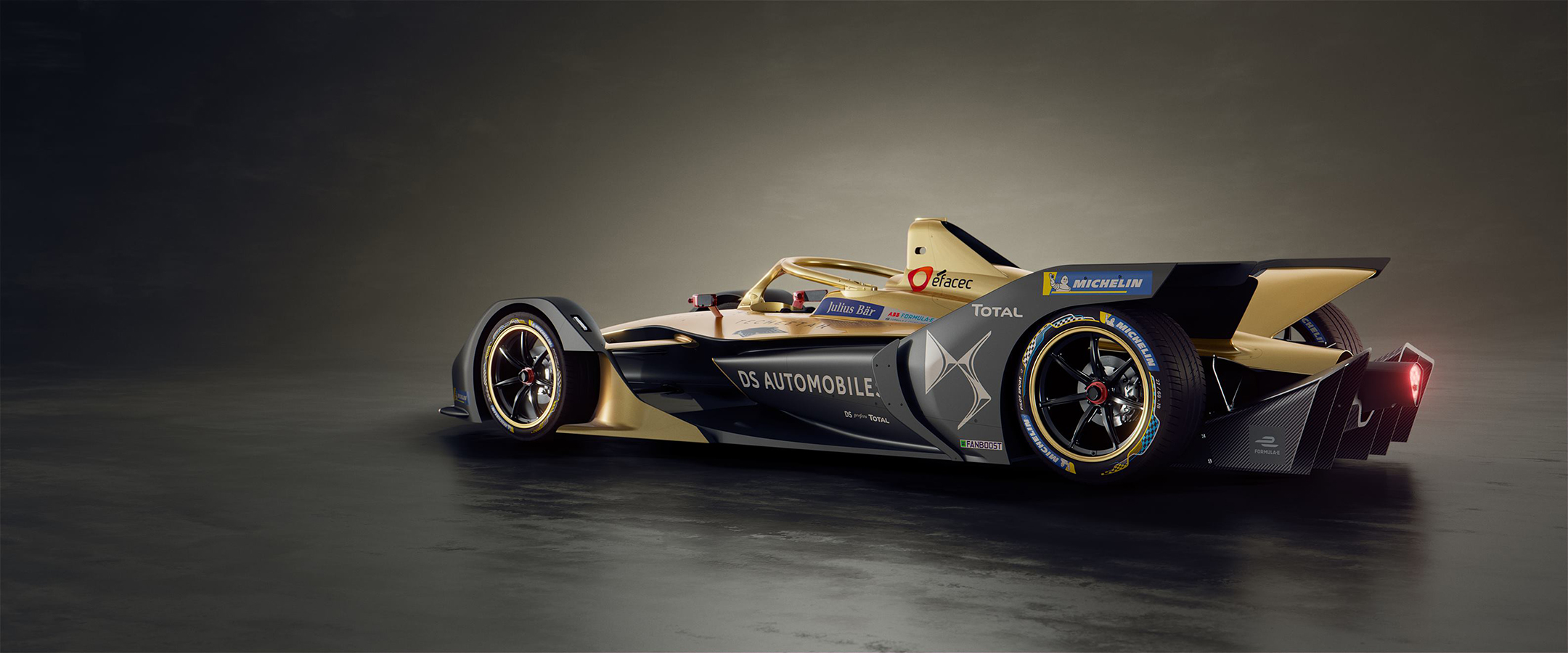 DS Techeetah E-TENSE - FormulaE 2018/2019 - rear side-face