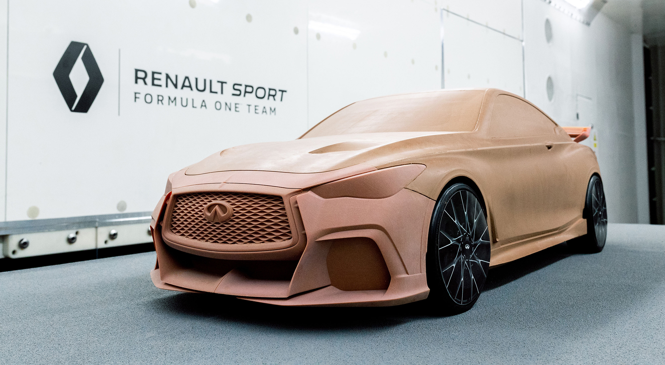 Infiniti Project Black S - 2018 - aero test design