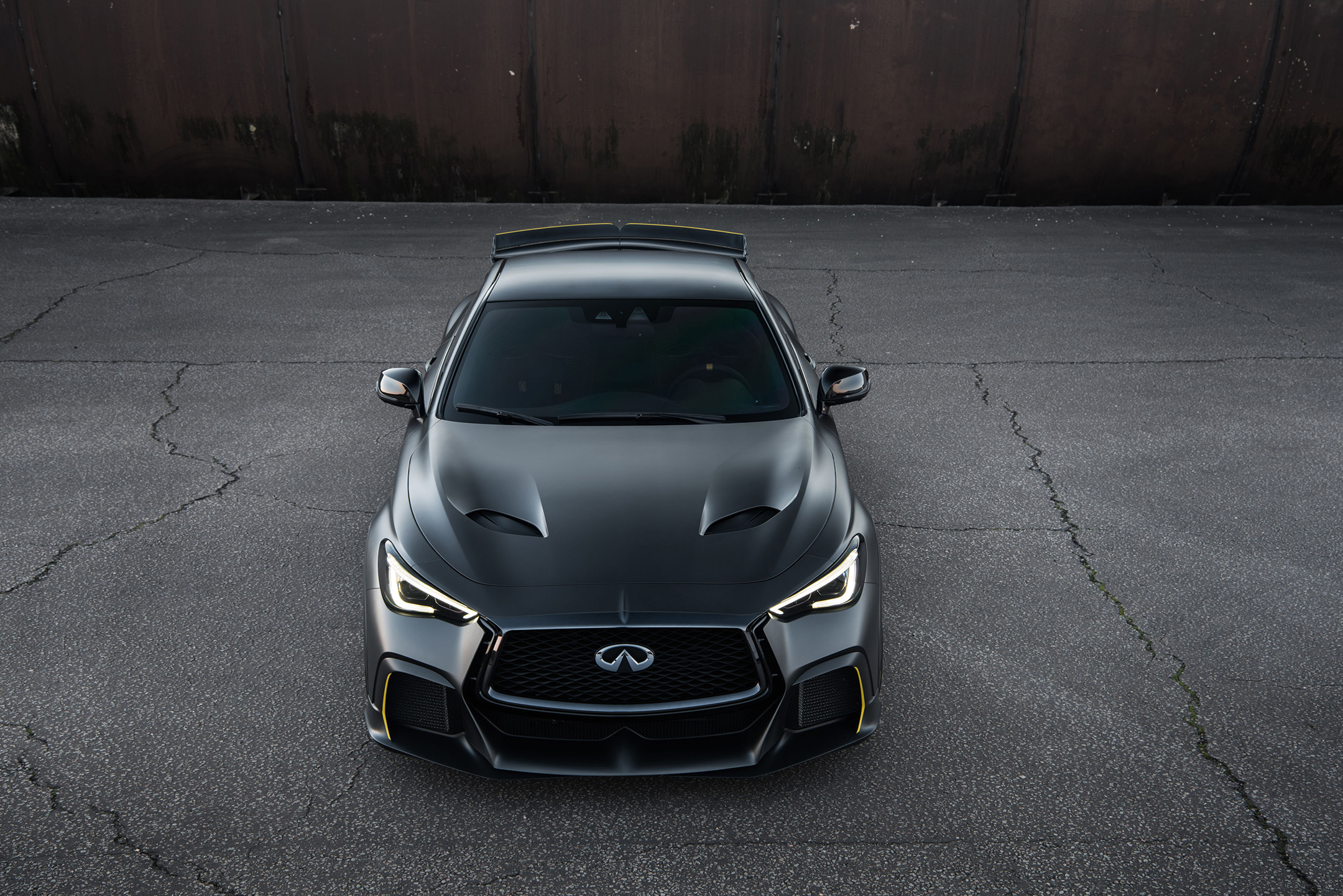 Infiniti Project Black S - 2018 - front face / face avant