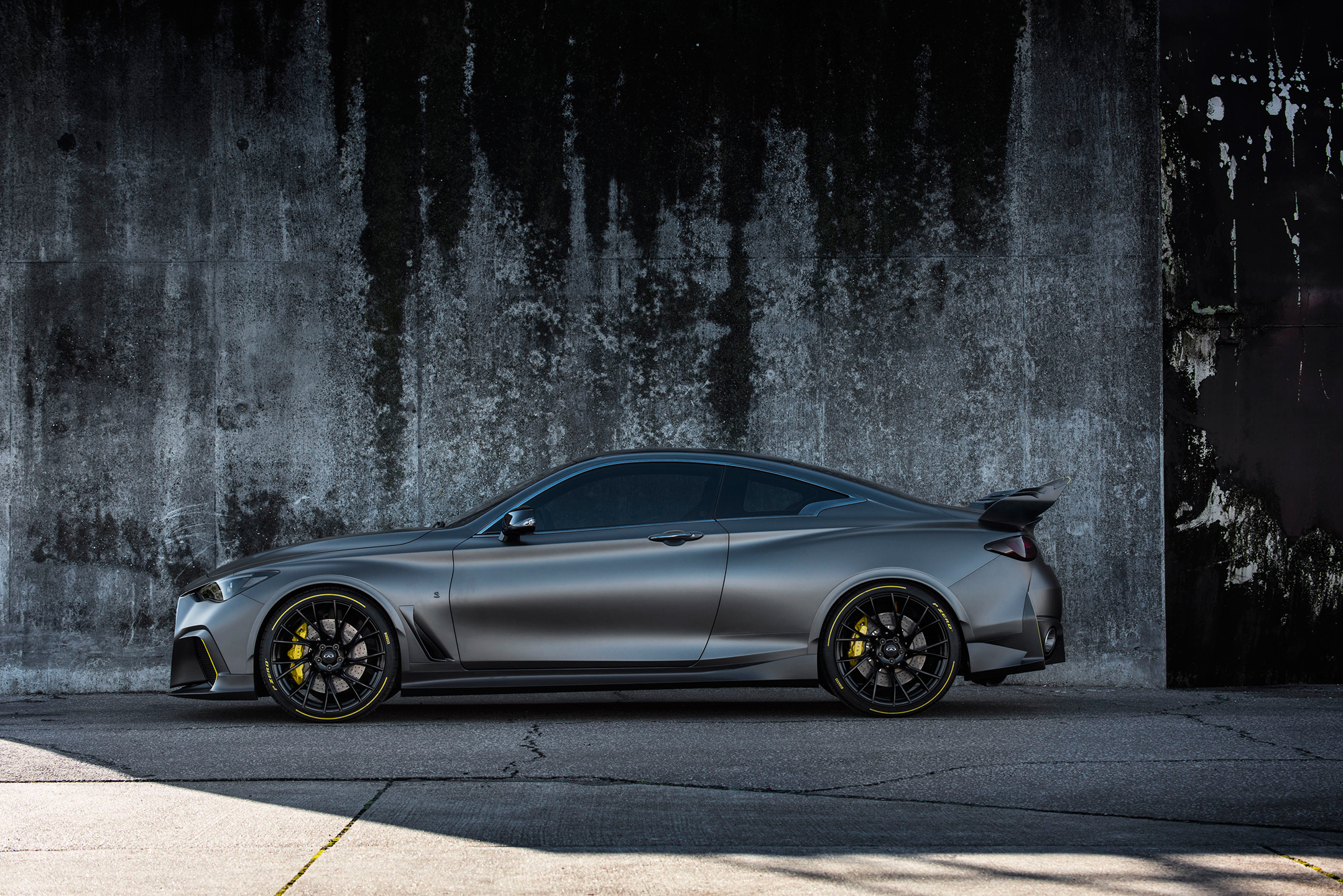 Infiniti Project Black S - 2018 - side-face / profil