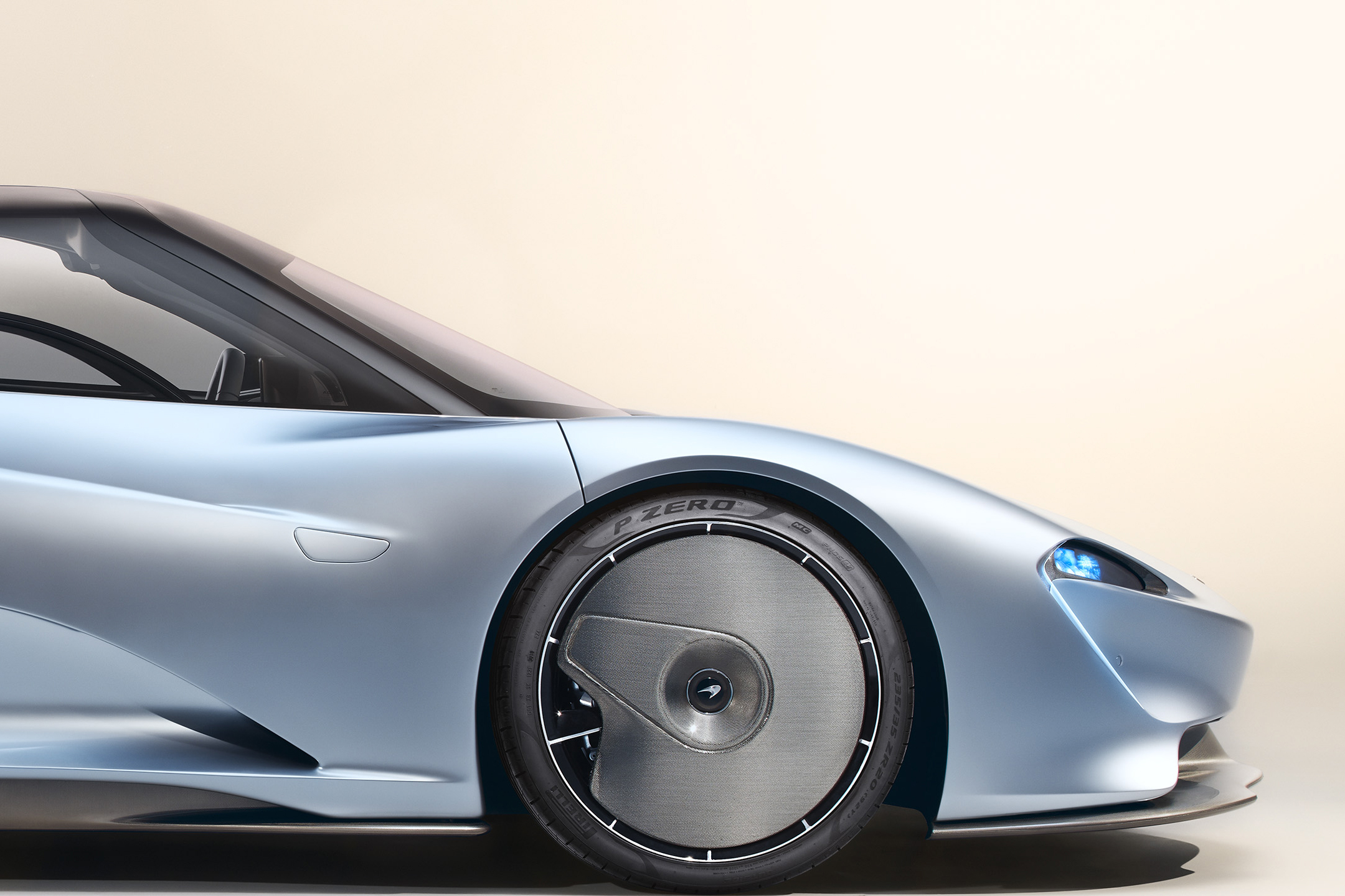 McLaren Speedtail - 2018 - front wheel