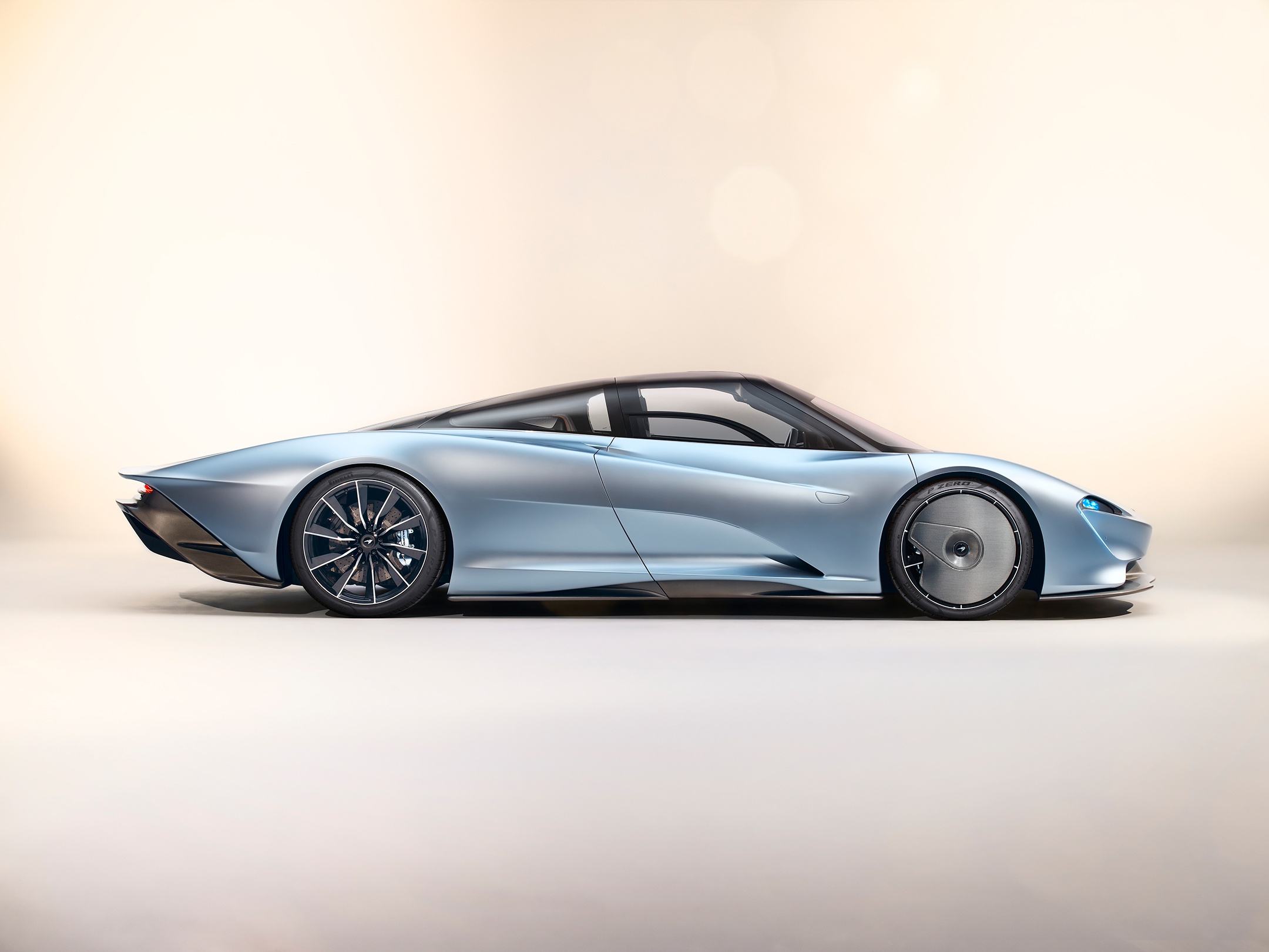 McLaren Speedtail - 2018 - side-face / profil