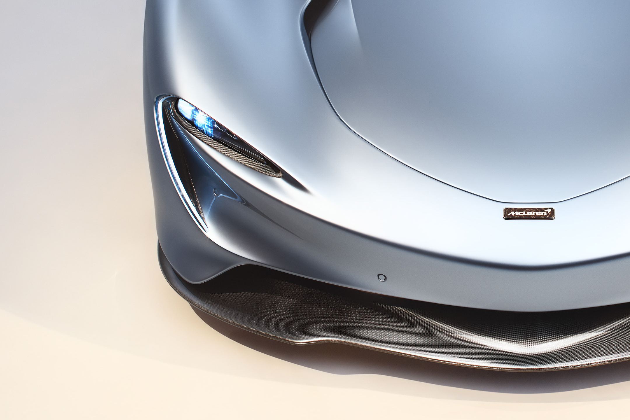 McLaren Speedtail - 2018 - front splitter