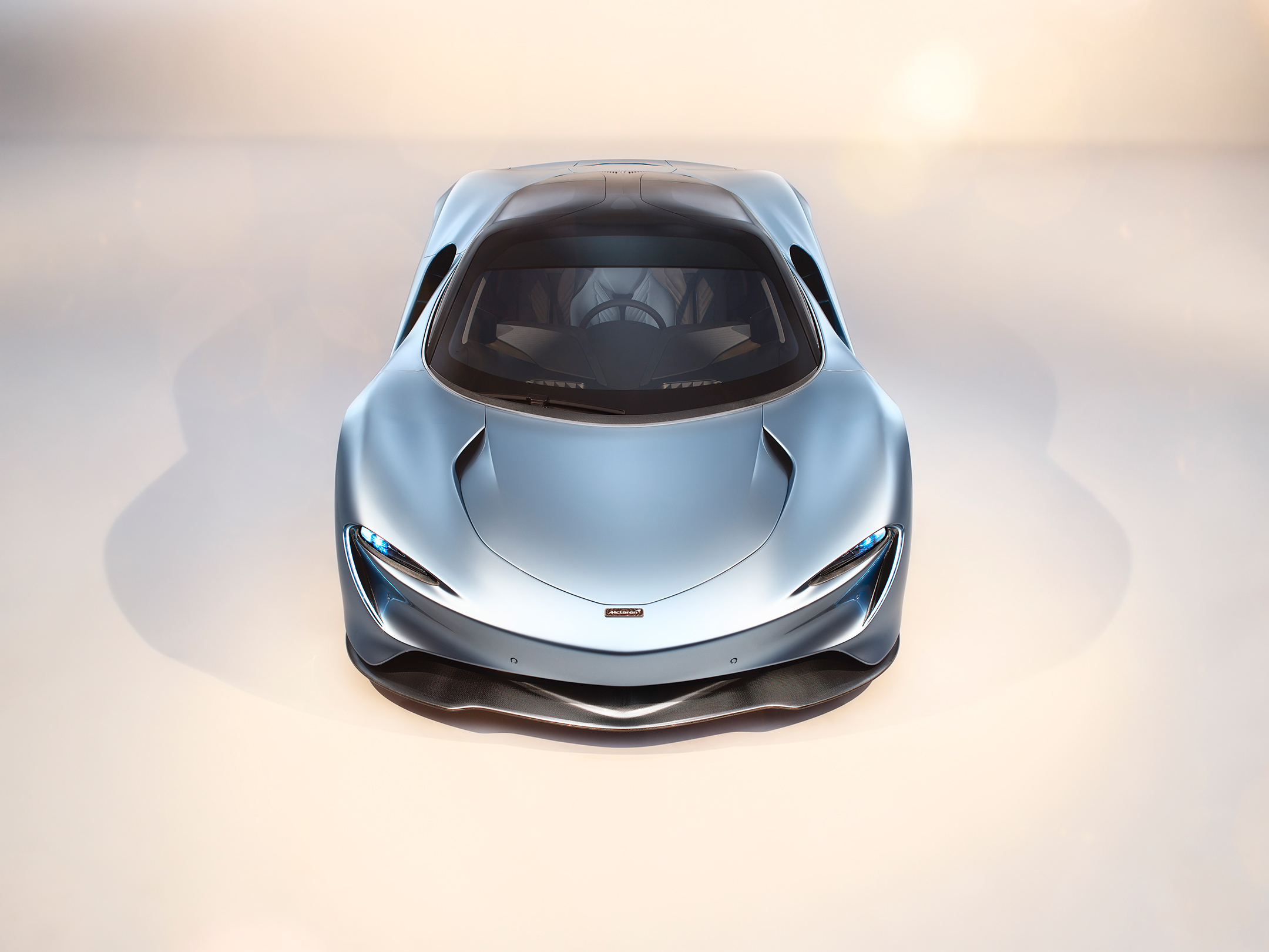 McLaren Speedtail - 2018 - top front-face