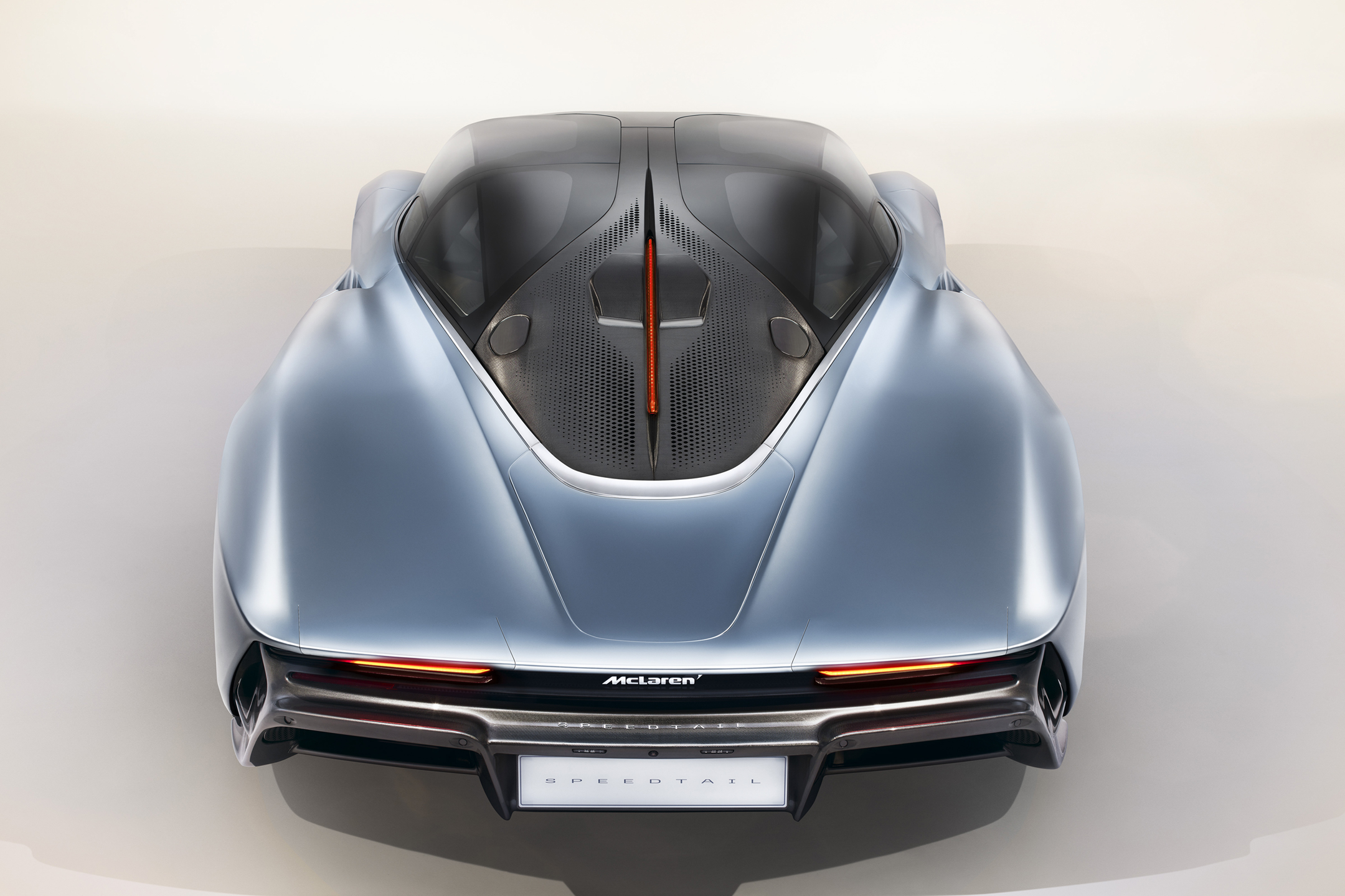McLaren Speedtail - 2018 - top rear face