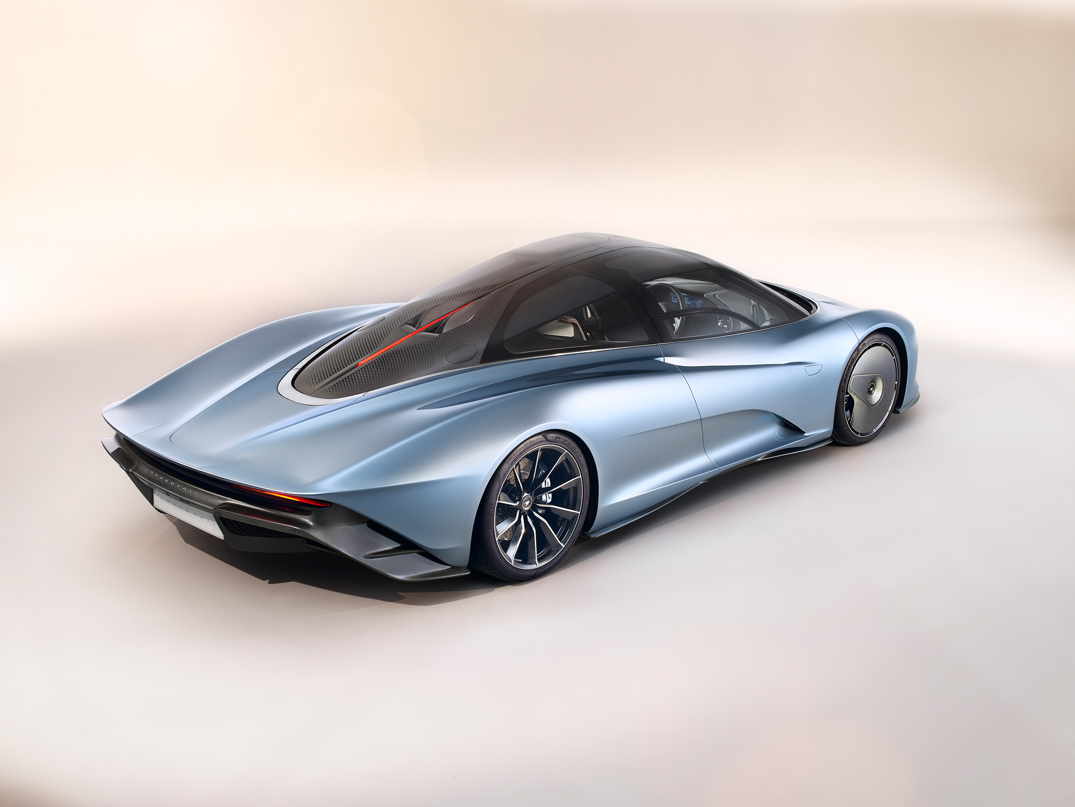 McLaren Speedtail - 2018 - top rear side-face
