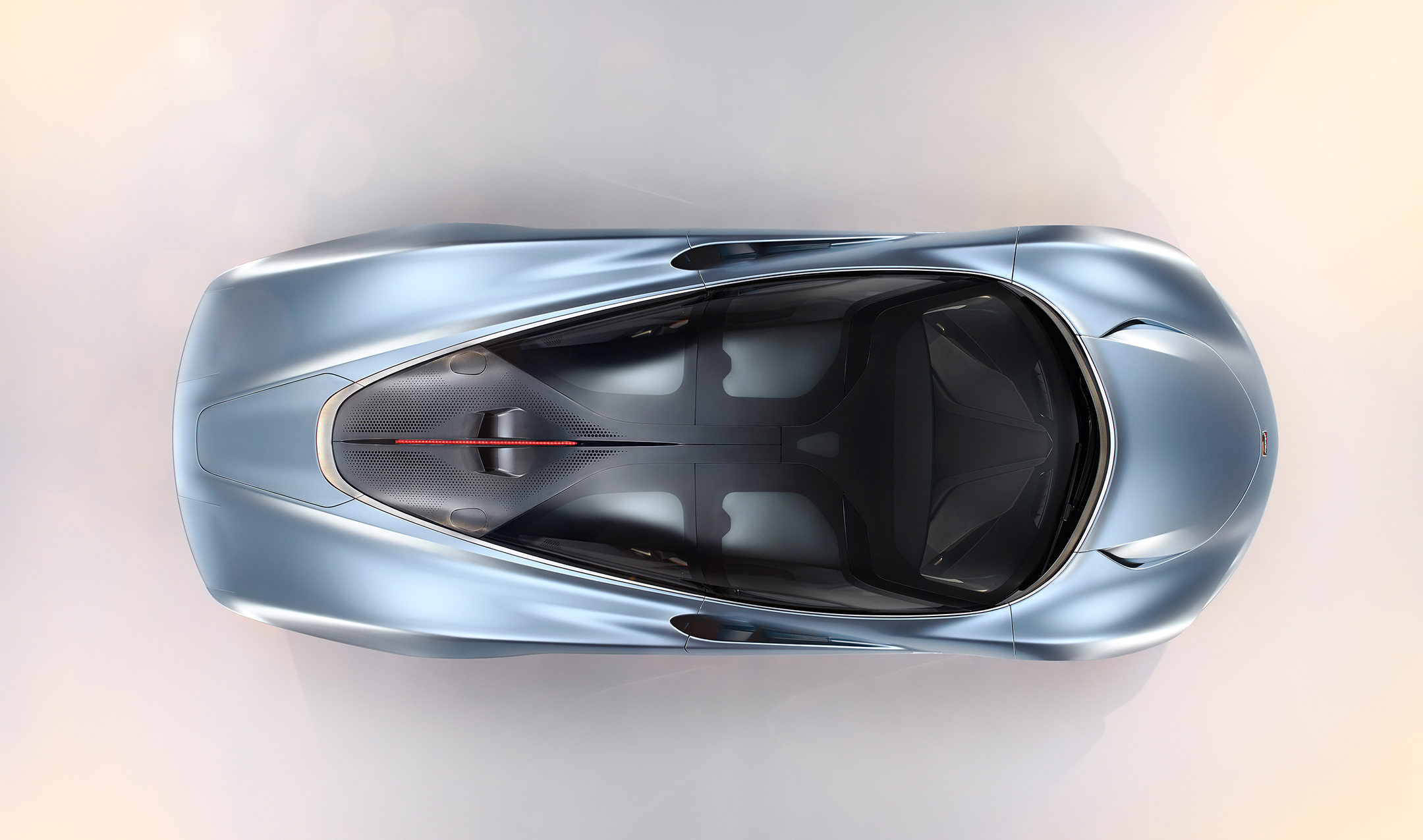 McLaren Speedtail - 2018 - top view