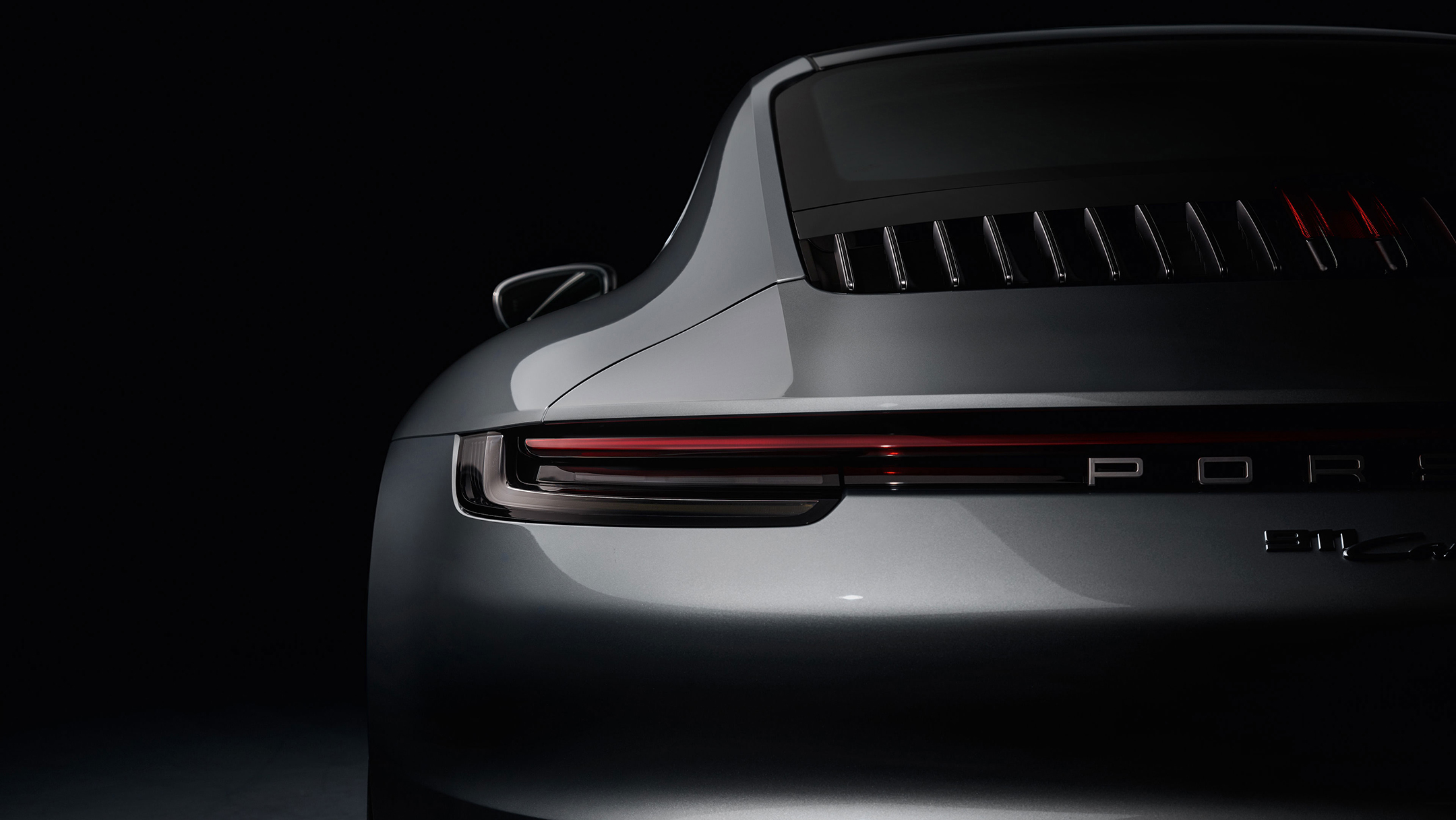 Porsche 911 type 992 Carrera 4S - 2018 - rear view