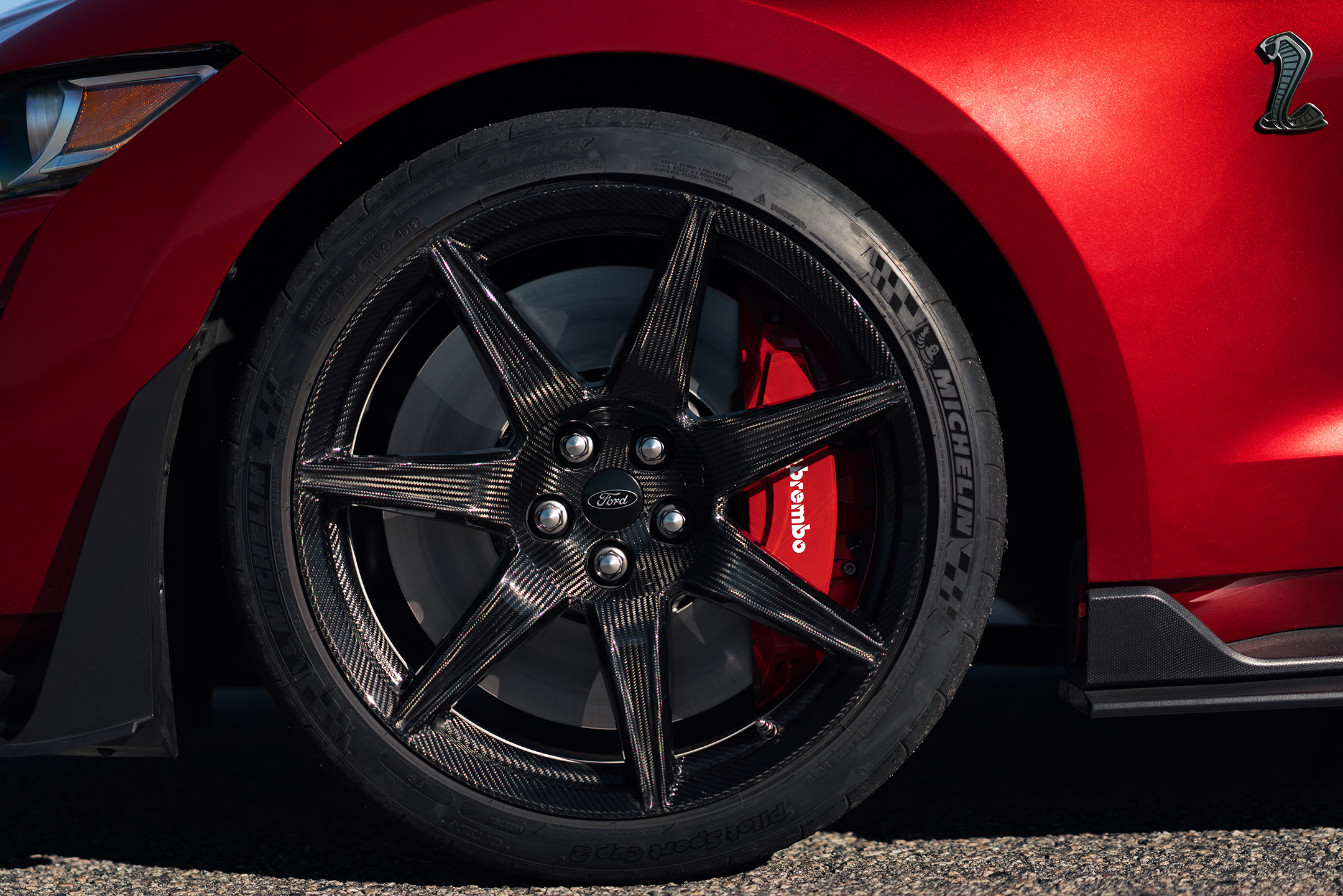 Ford Mustang 2020 Shelby GT500 - 2019 - wheel / jante