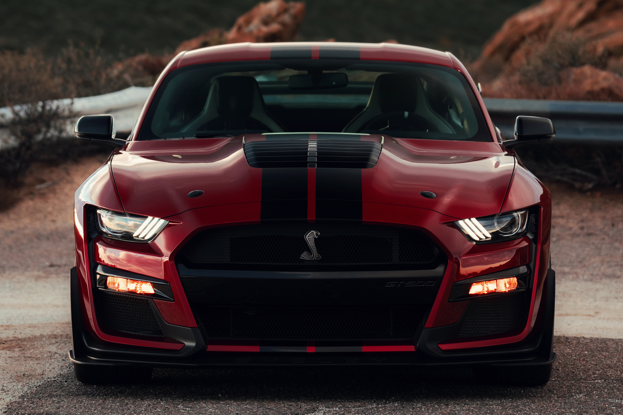 Ford Mustang 2020 Shelby GT500 - 2019 - front-face / face avant