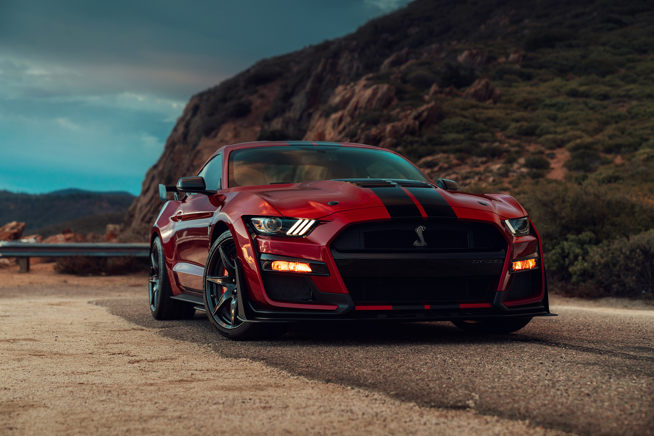 Ford Mustang 2020 Shelby GT500 - 2019 - front side-face / profil avant