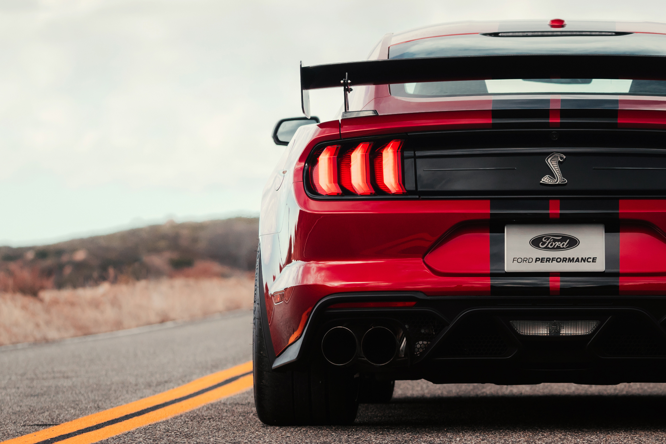 Ford Mustang 2020 Shelby GT500 - 2019 - rear light