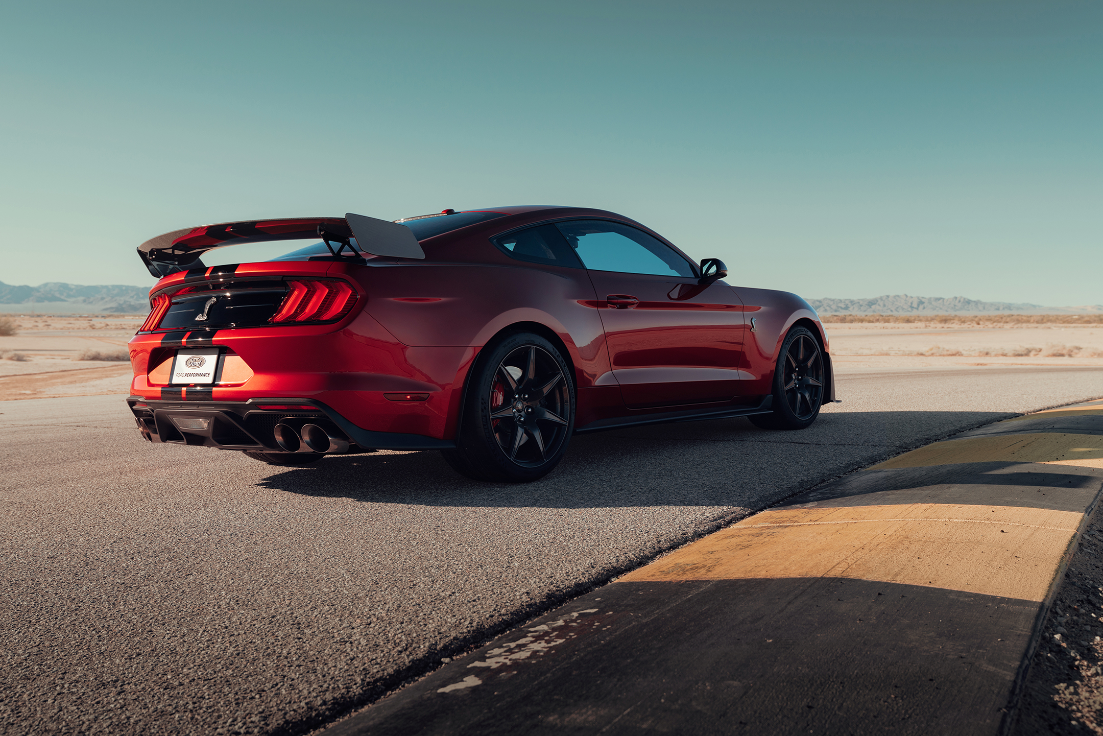 Ford Mustang 2020 Shelby GT500 - 2019 - rear side-face / profil arrière
