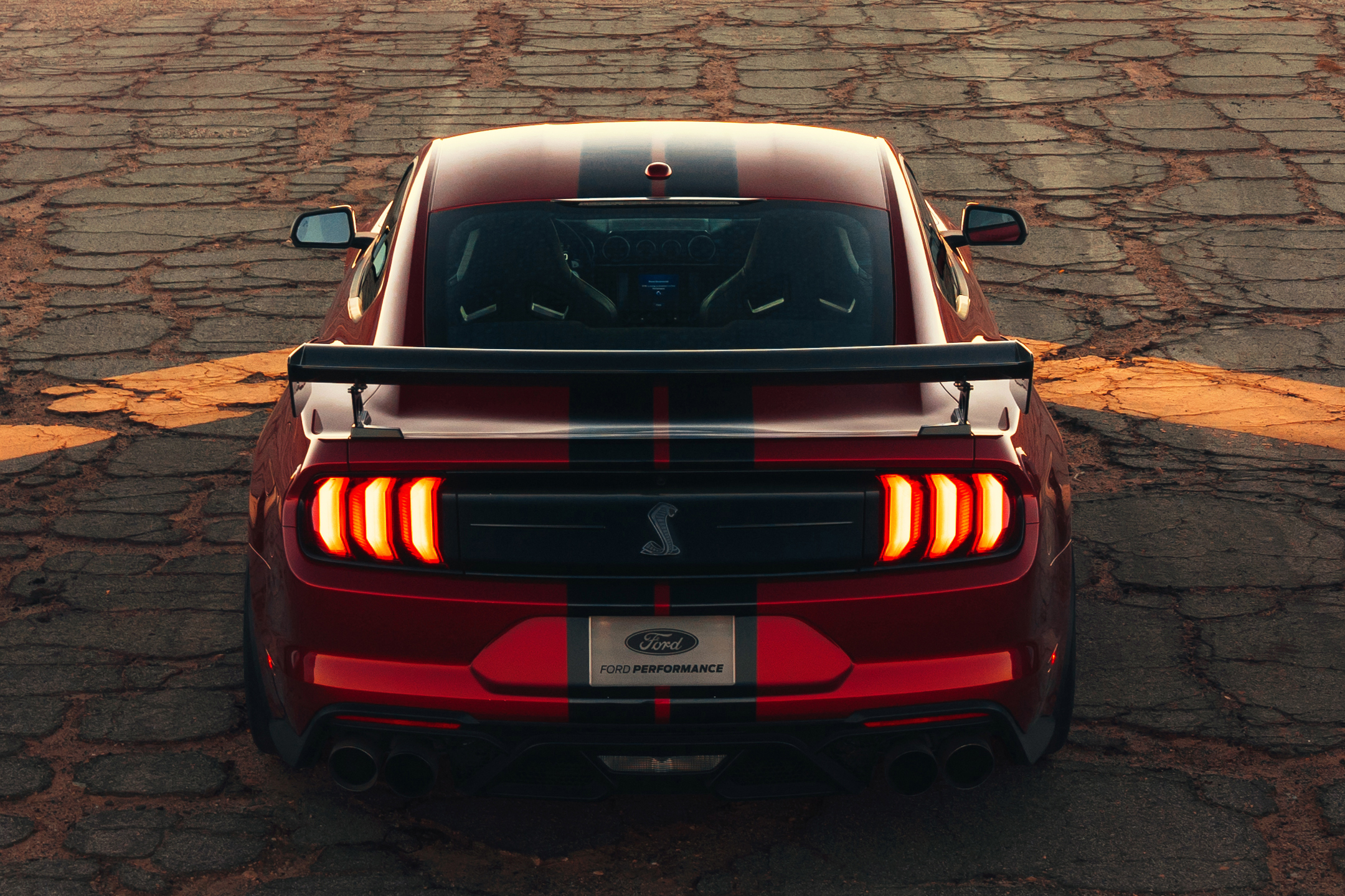 Ford Mustang 2020 Shelby GT500 - 2019 - top rear