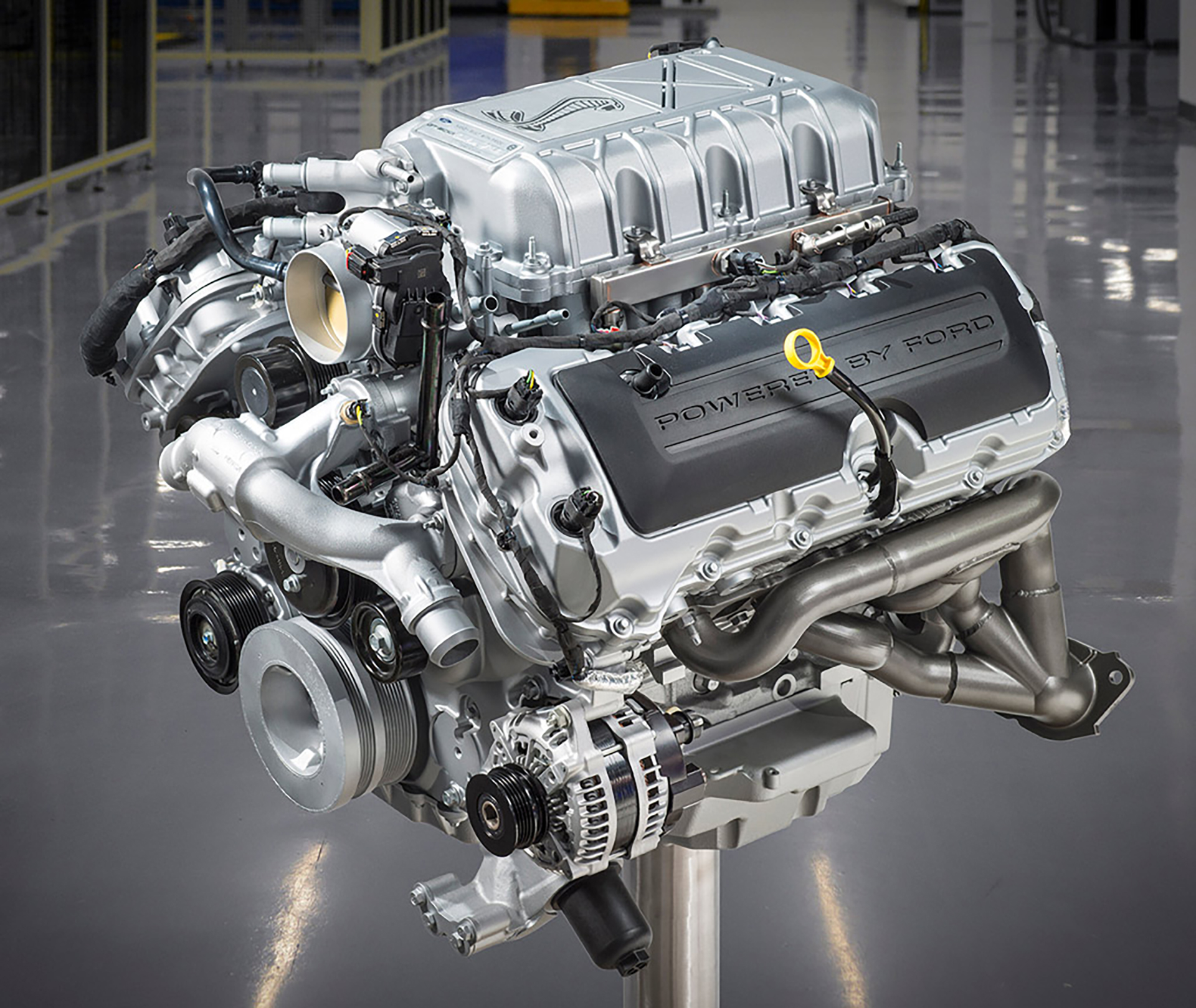 Ford Mustang 2020 Shelby GT500 - 2019 - engine / moteur - Ford 5.2L V8