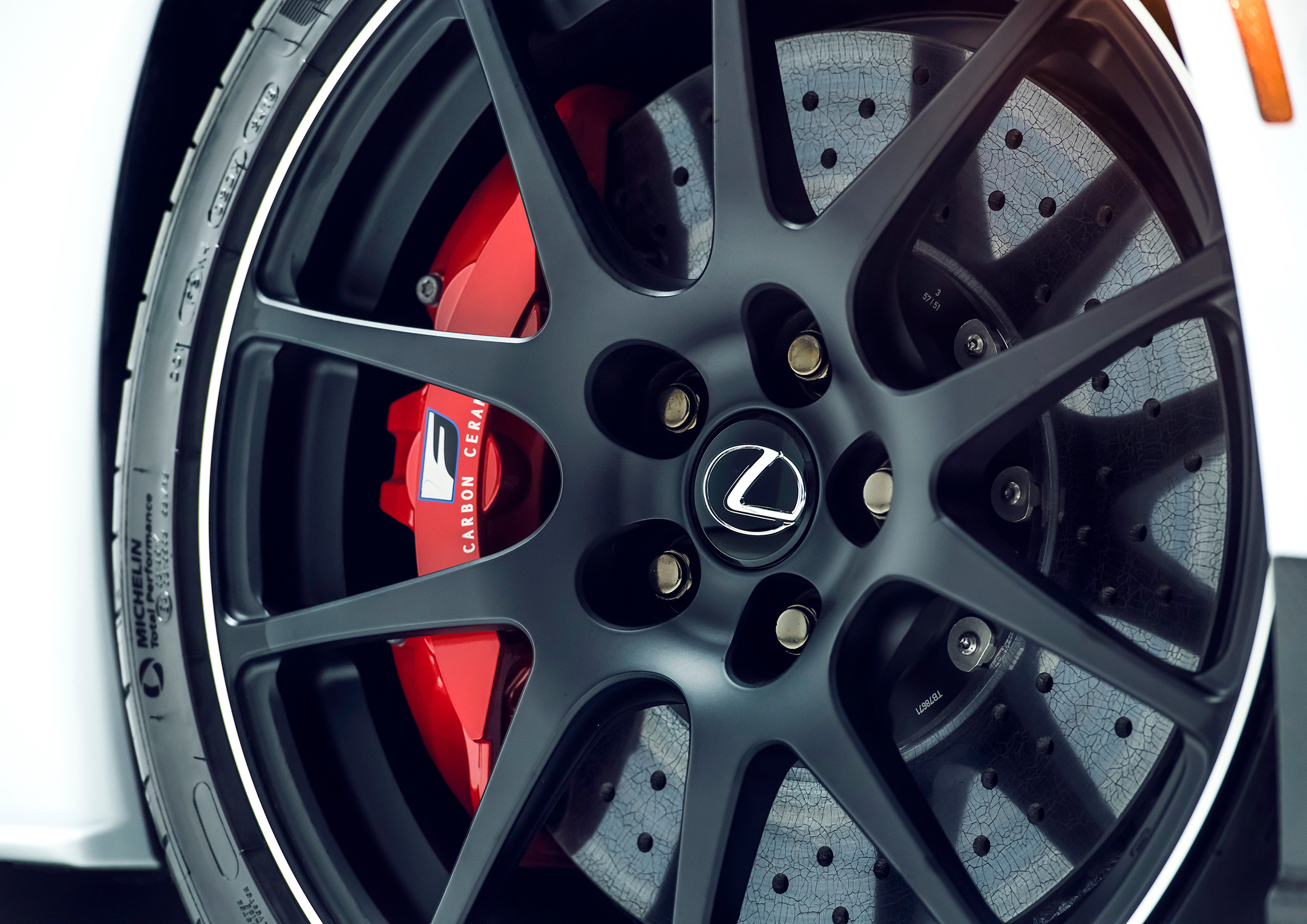 Lexus RC F Track Edition - 2019 - wheel / jante - brake disc / disque de frein