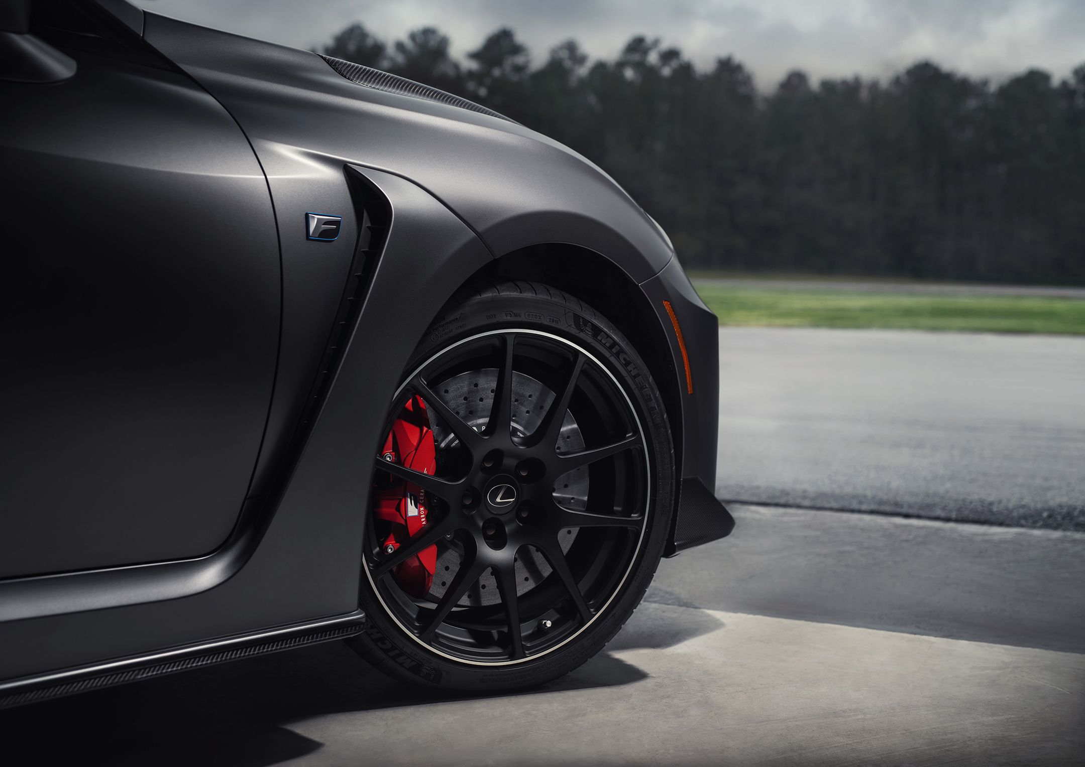 Lexus RC F Track Edition - 2019 - wheel / jante