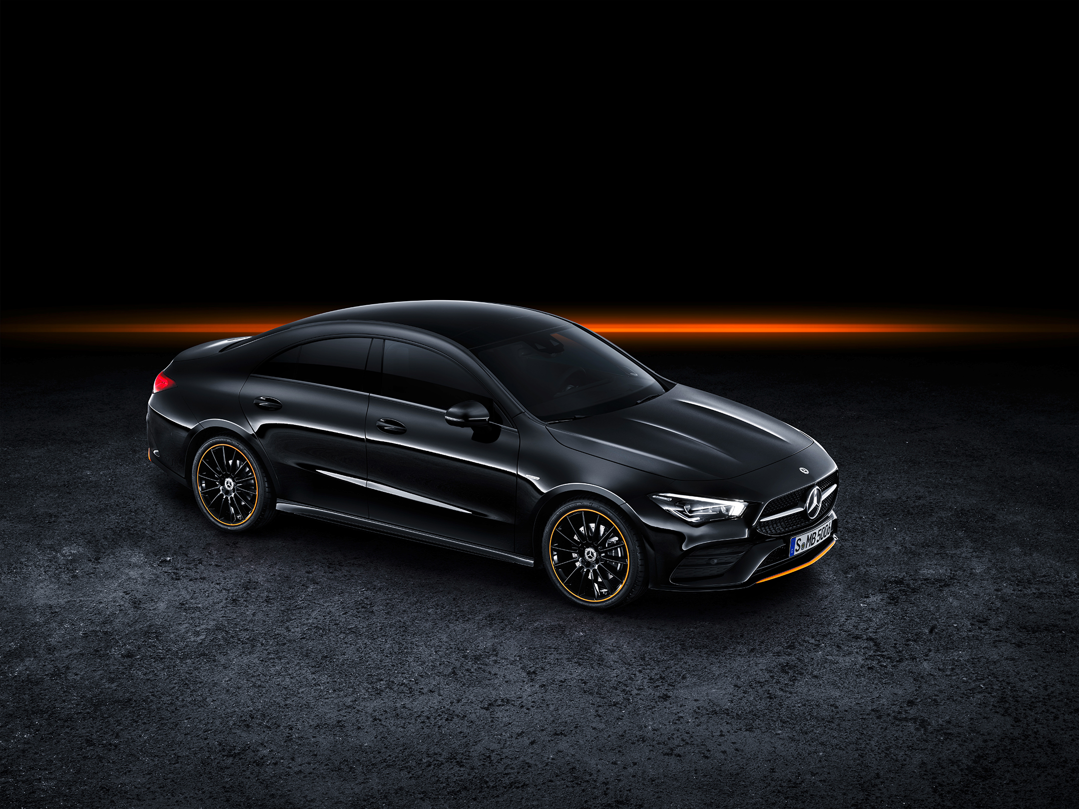 Mercedes-Benz CLA Coupe - 2019 - front side-face / profil avant - Edition 1