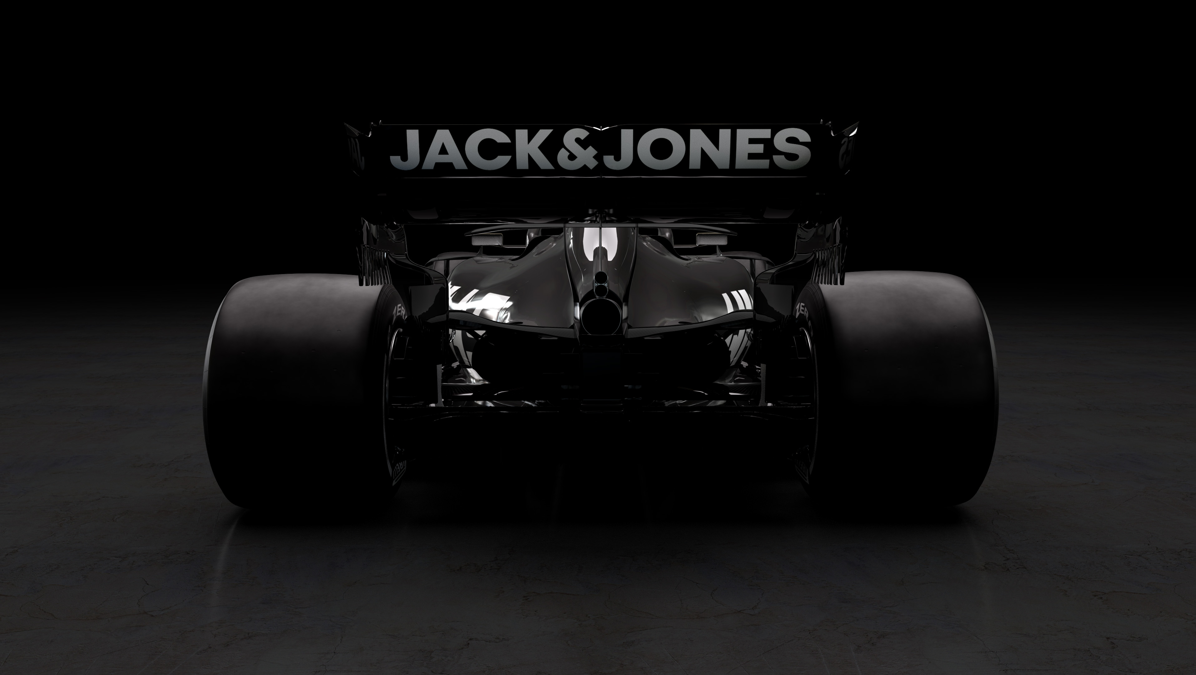 F1 2019 RICH ENERGY HAAS F1 TEAM VF19 - rear face / face arrière