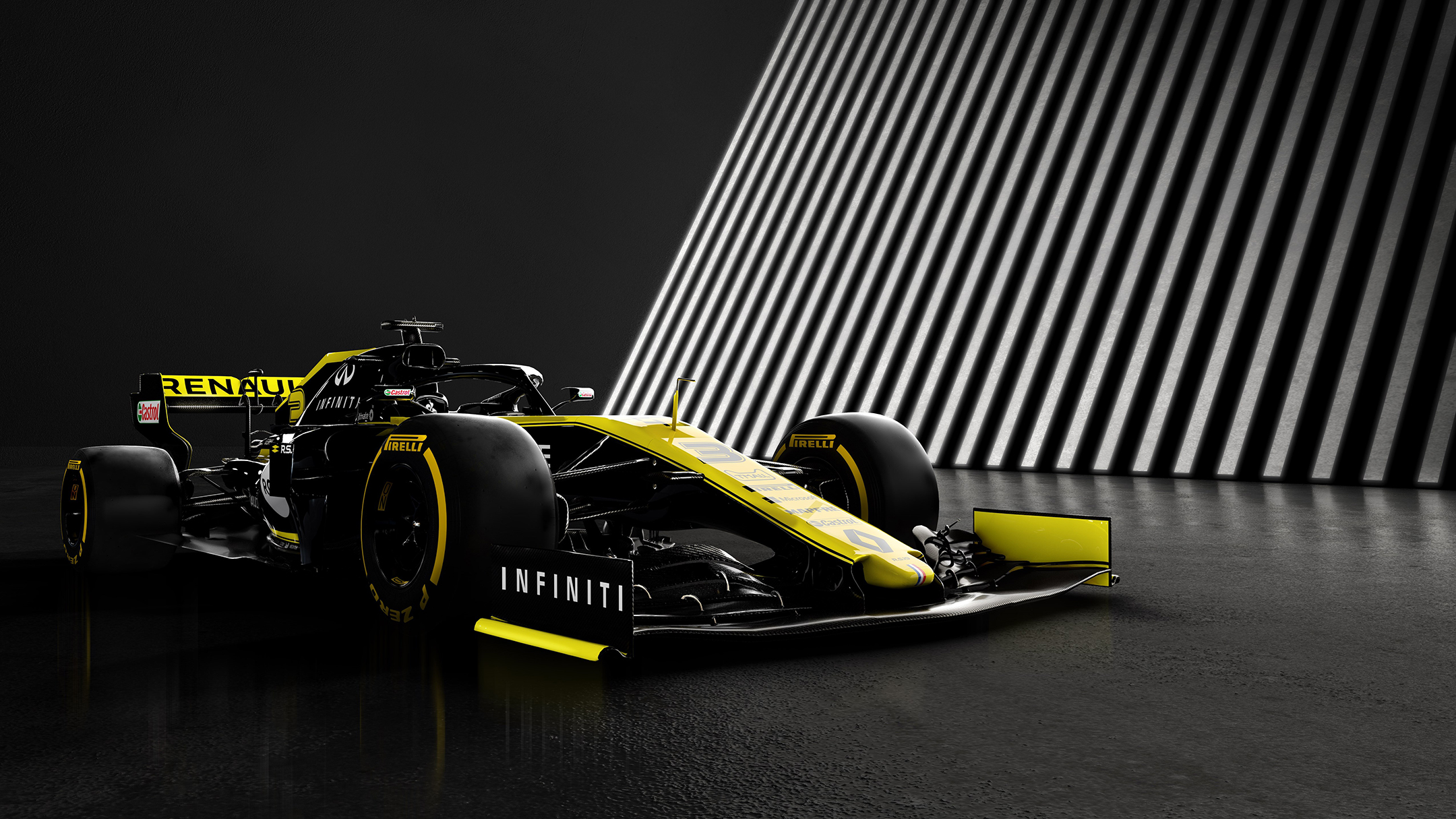 F1 2019 - RENAULT F1 TEAM R.S.19 - front wing / aileron avant