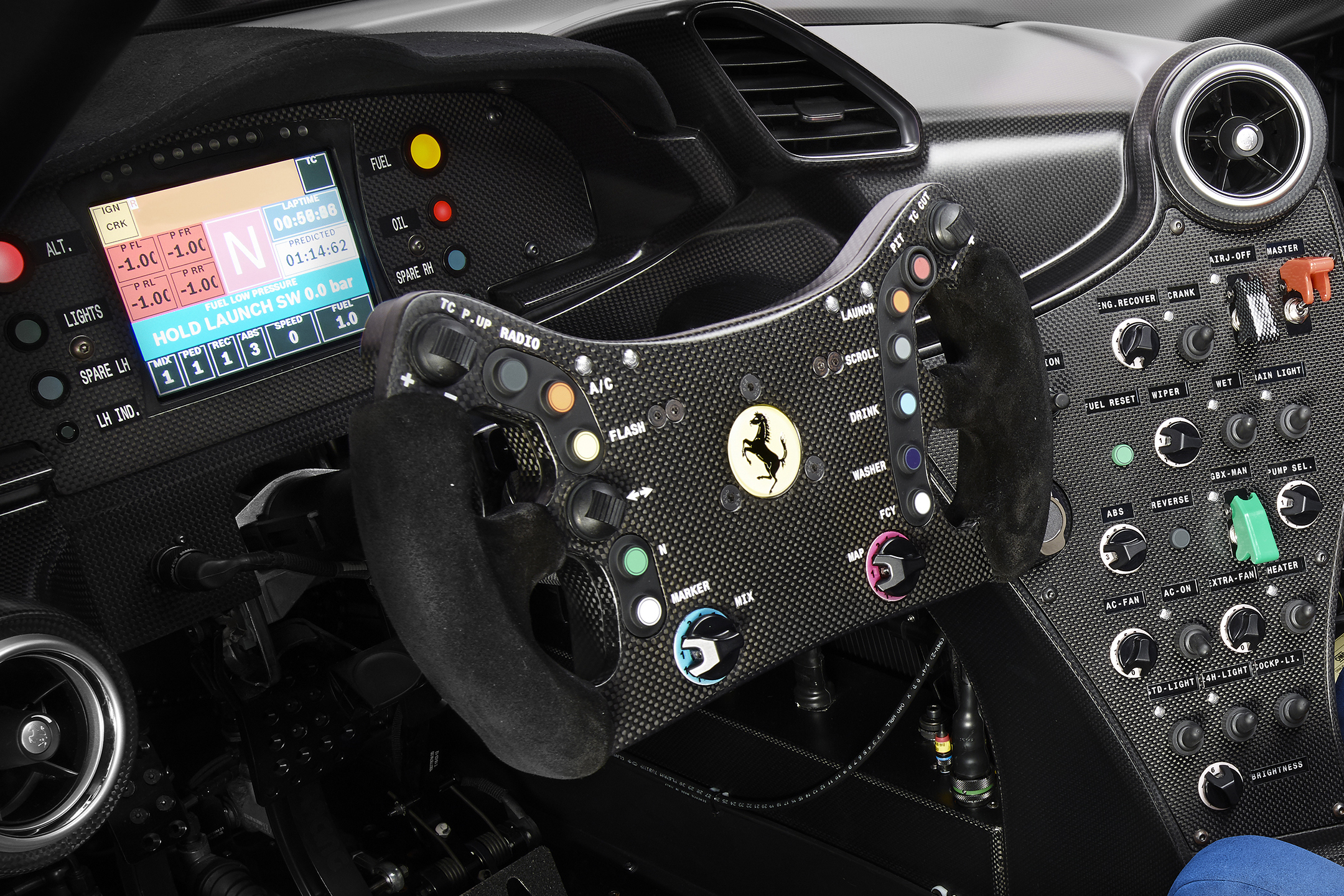 Ferrari P80/C - 2019 - racing wheel / volant course