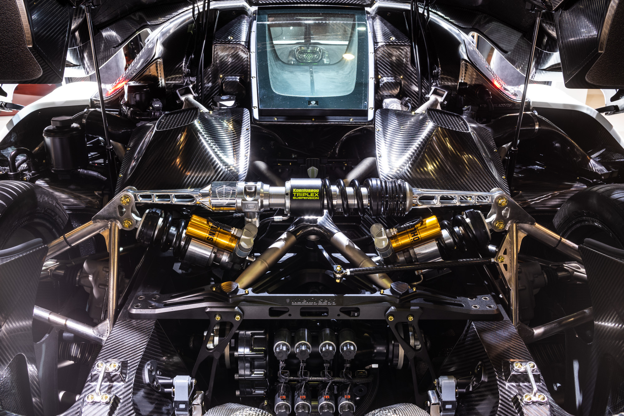 Koenigsegg Jesko - 2019 - chassis - preview - Gims Swiss - photo by Steven Wade