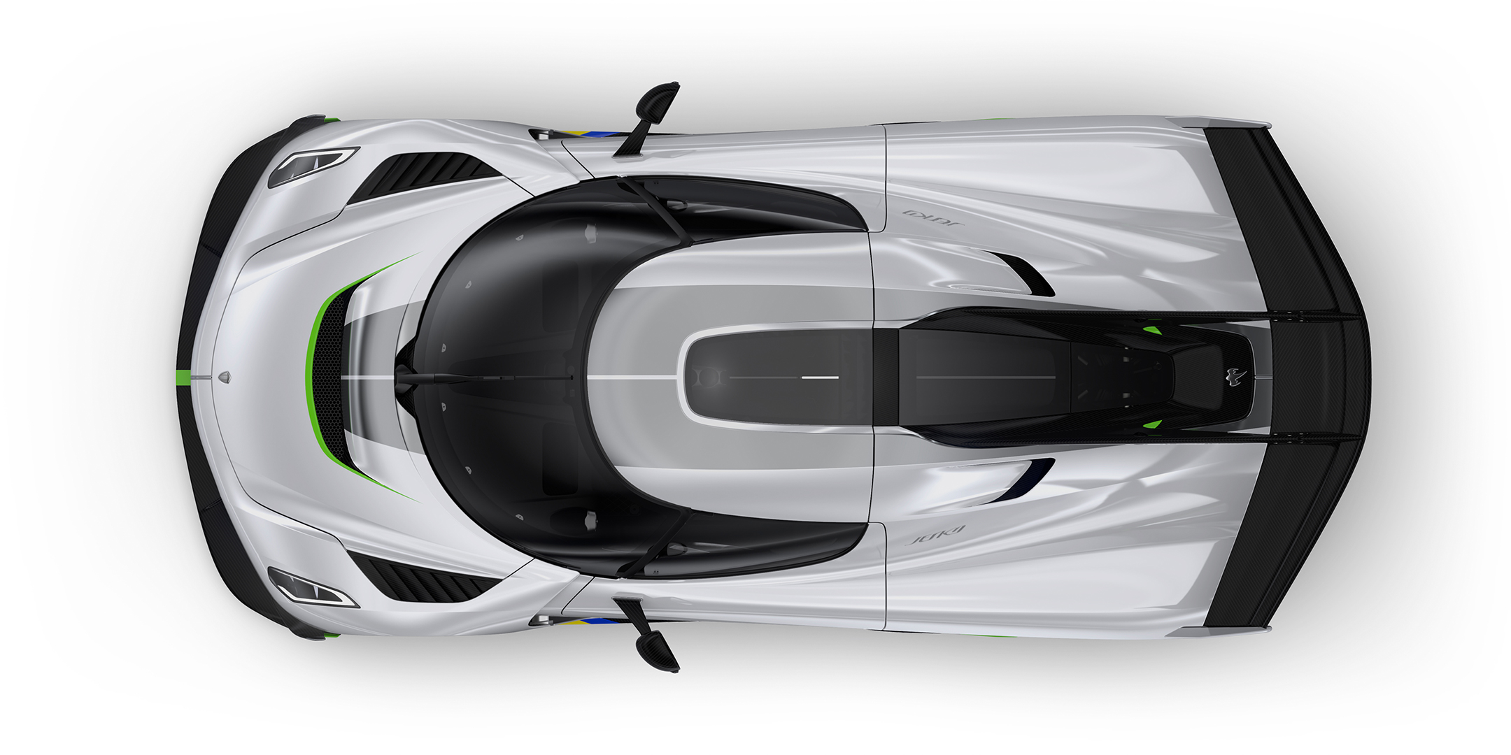 Koenigsegg Jesko - 2019 - top view